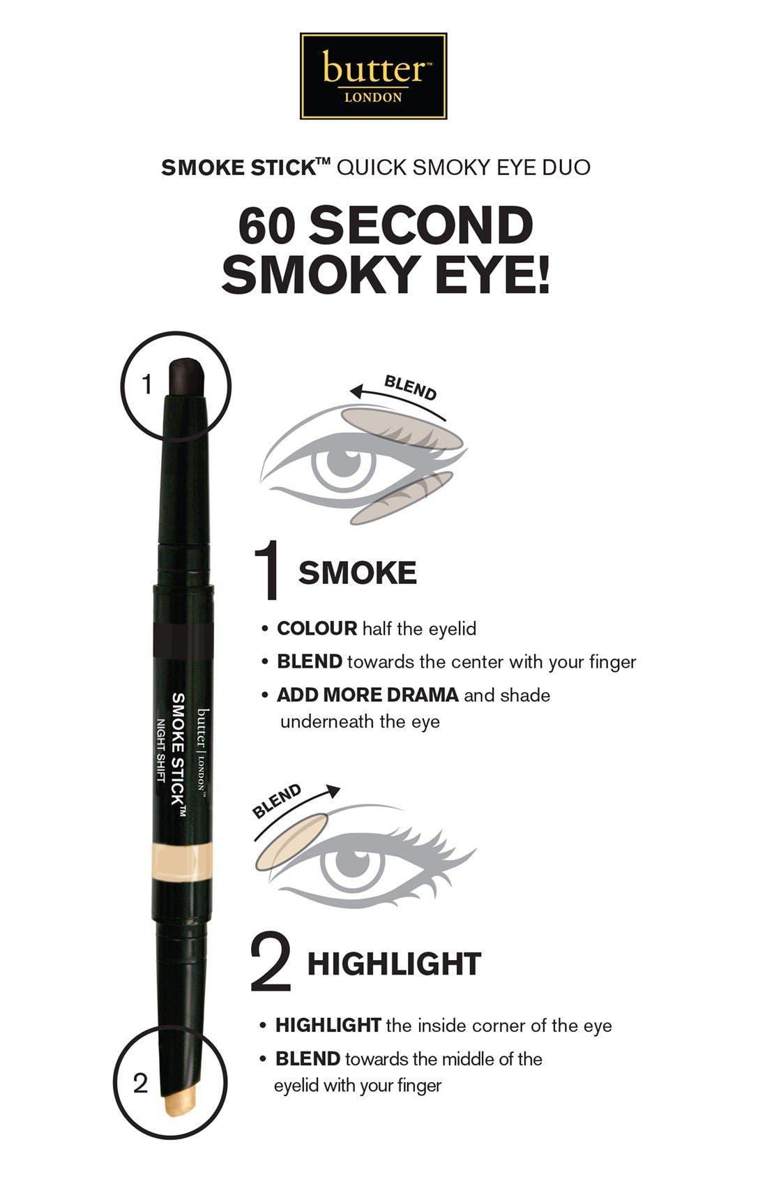 BUTTER LONDON,                             'Smoke Stick' Smoky Eye Duo,                             Alternate thumbnail 2, color,                             200