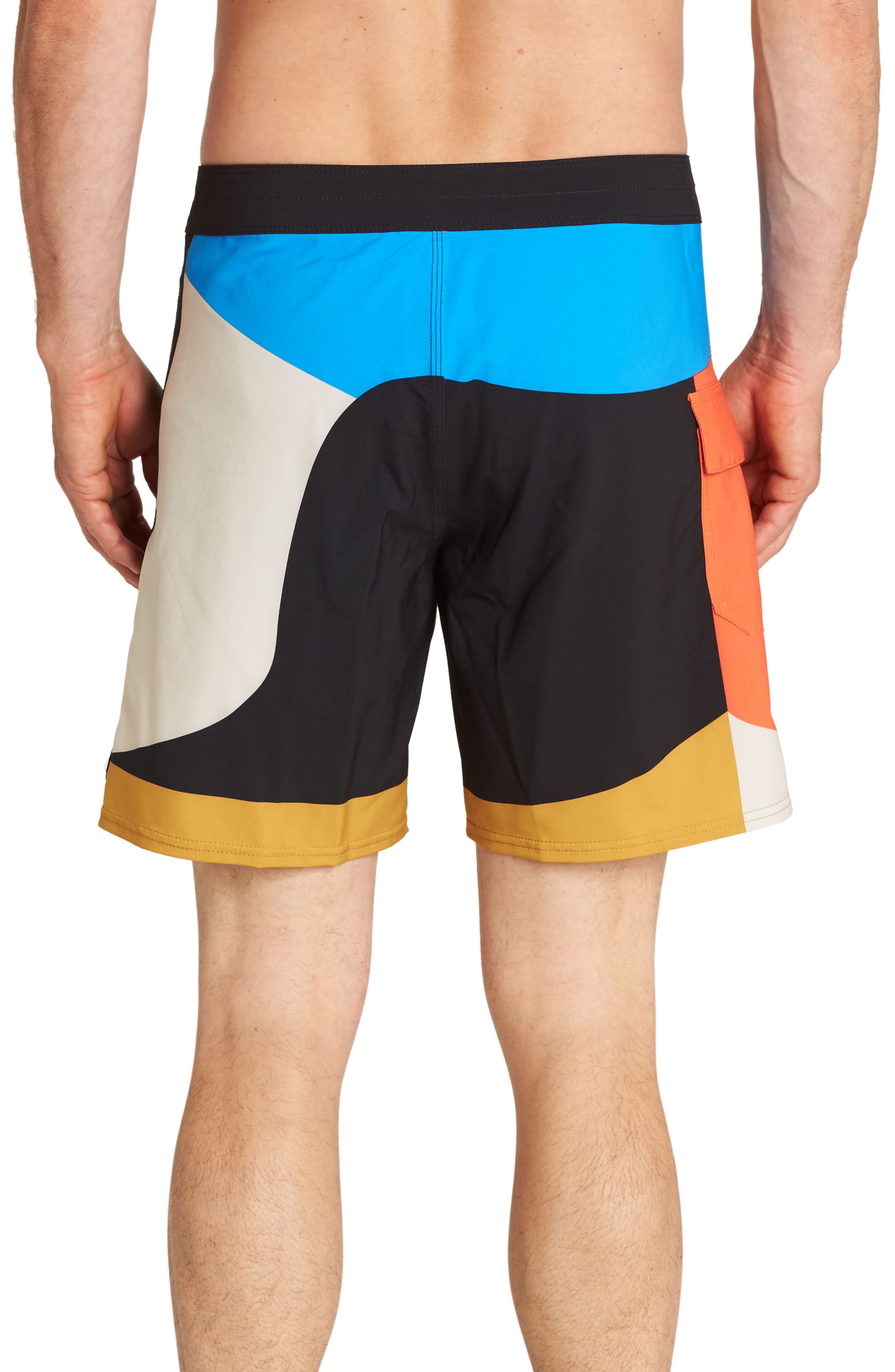 Vai Vai Swim Trunks,                             Alternate thumbnail 2, color,                             MULTI