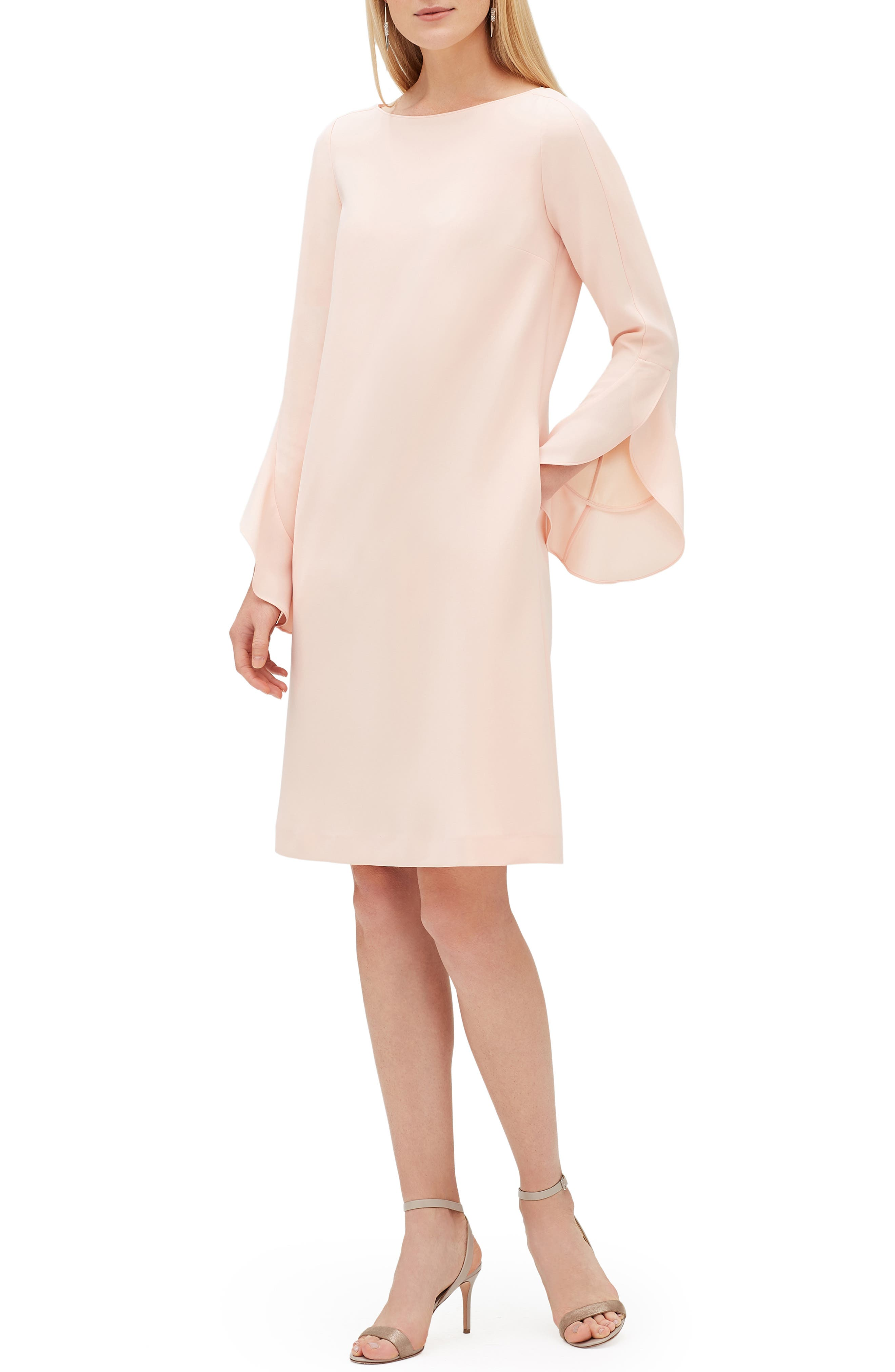Lafayette 148 New York Emory Finesse Crepe Dress, Pink