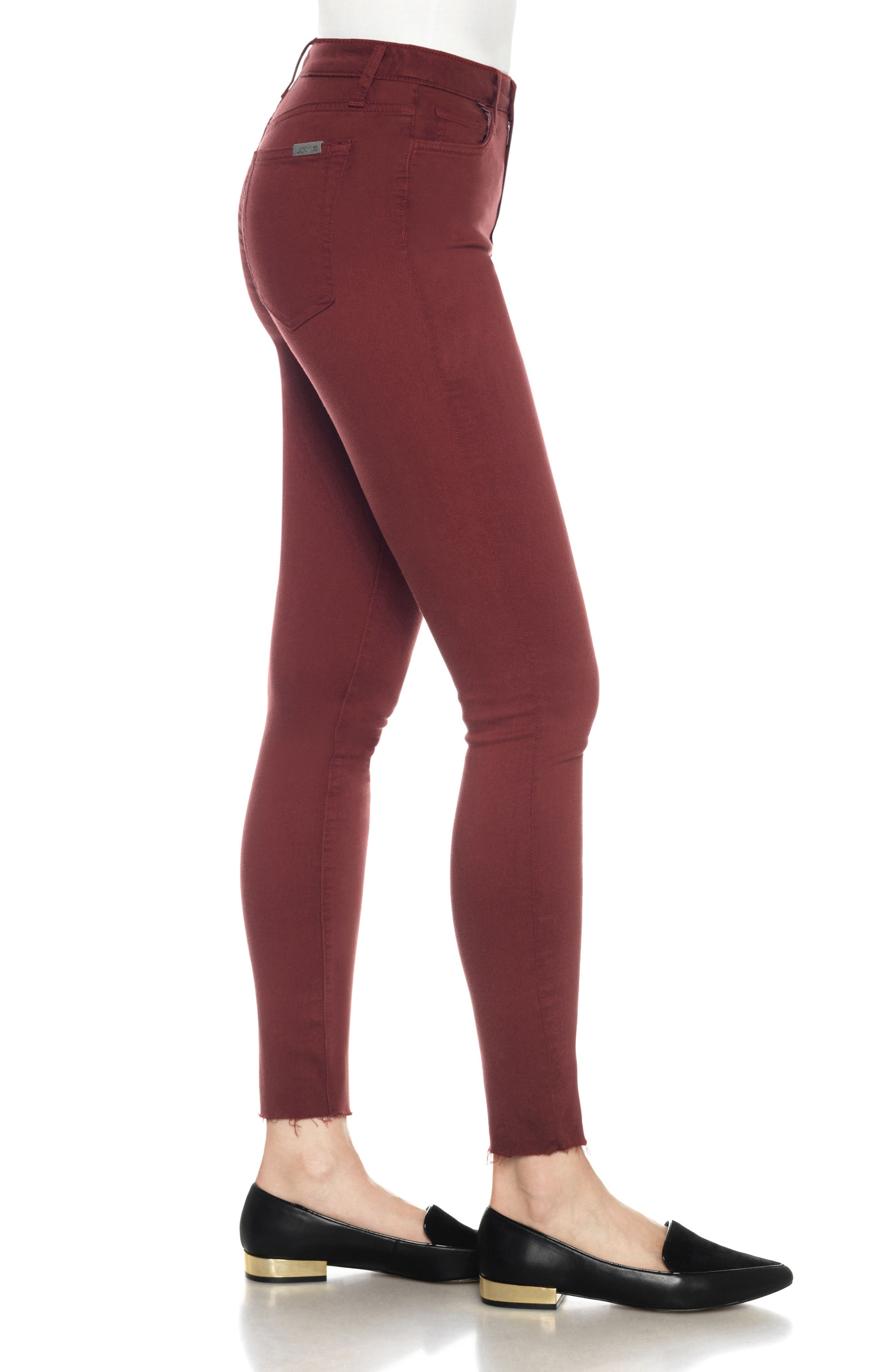 Charlie High Rise Ankle Skinny Jeans,                             Alternate thumbnail 28, color,