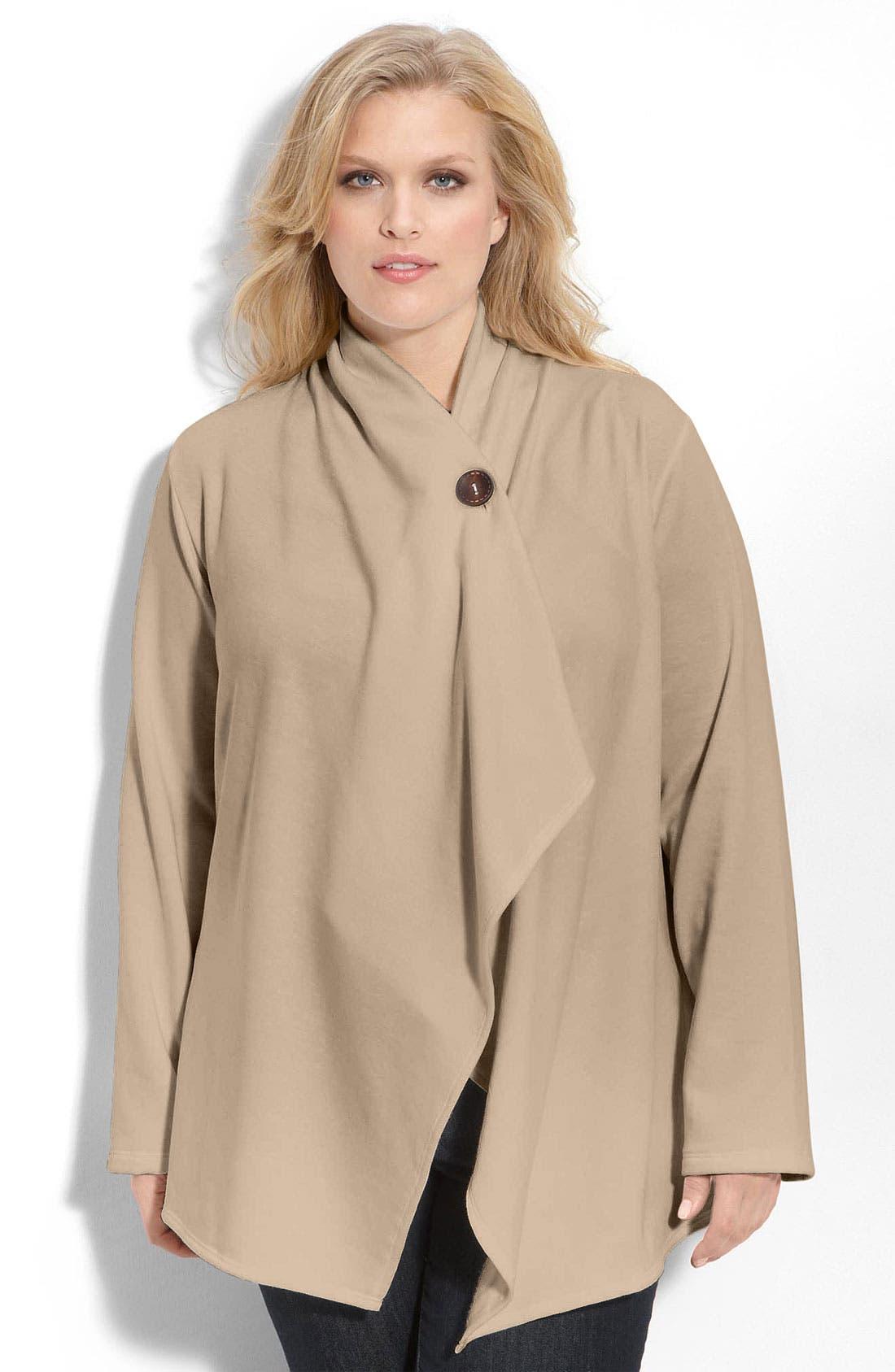 One-Button Fleece Cardigan,                             Main thumbnail 22, color,
