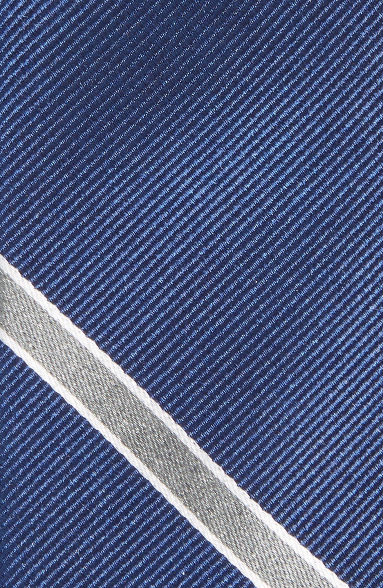 Triple Play Stripe Silk Tie,                             Alternate thumbnail 2, color,                             410