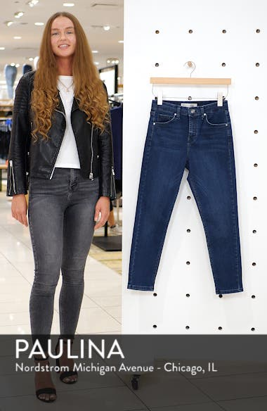 Jamie High Waist Skinny Jeans, sales video thumbnail
