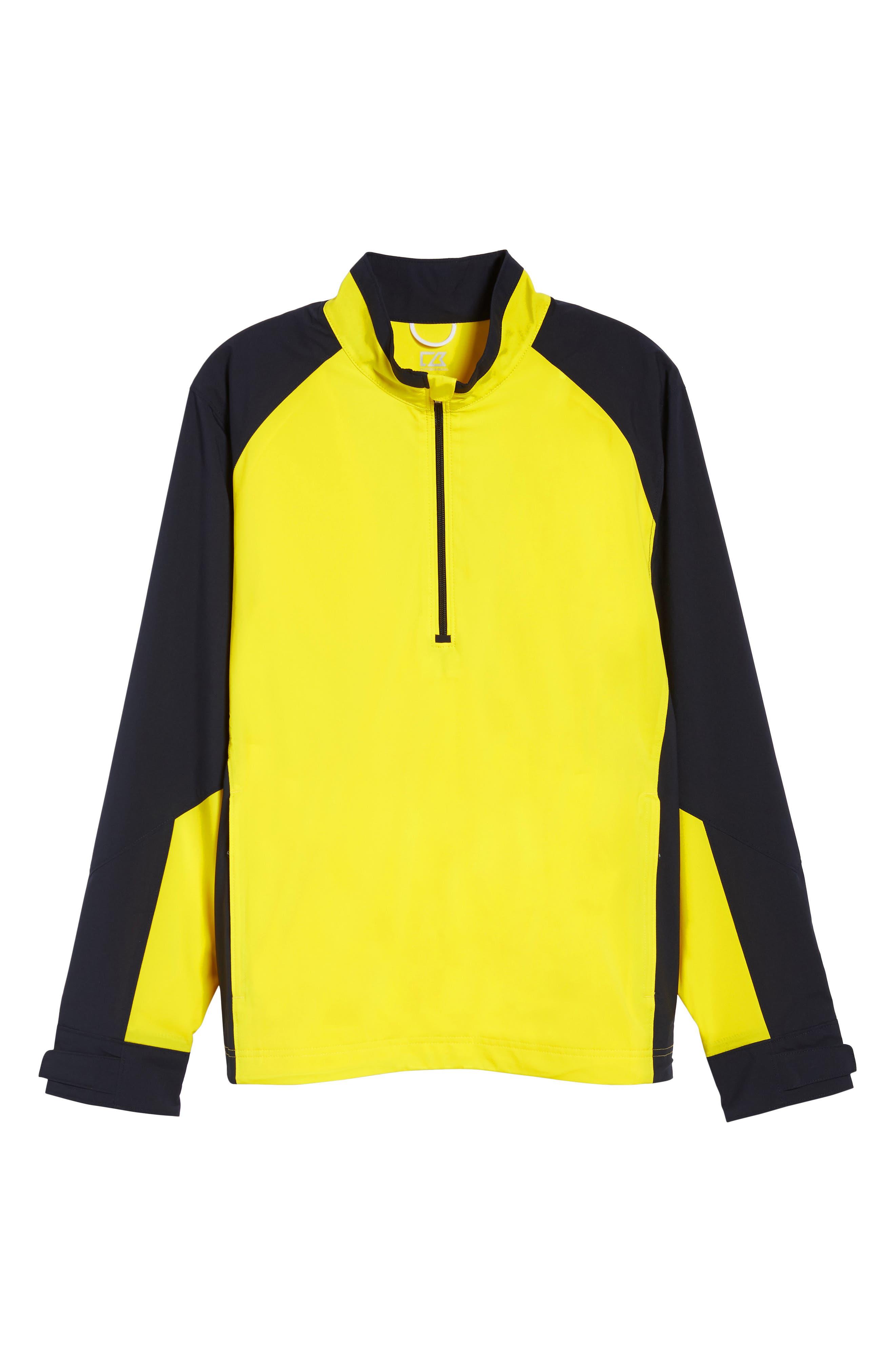 'Summit' WeatherTec Wind & Water Resistant Half Zip Jacket,                             Alternate thumbnail 6, color,                             GALAXY