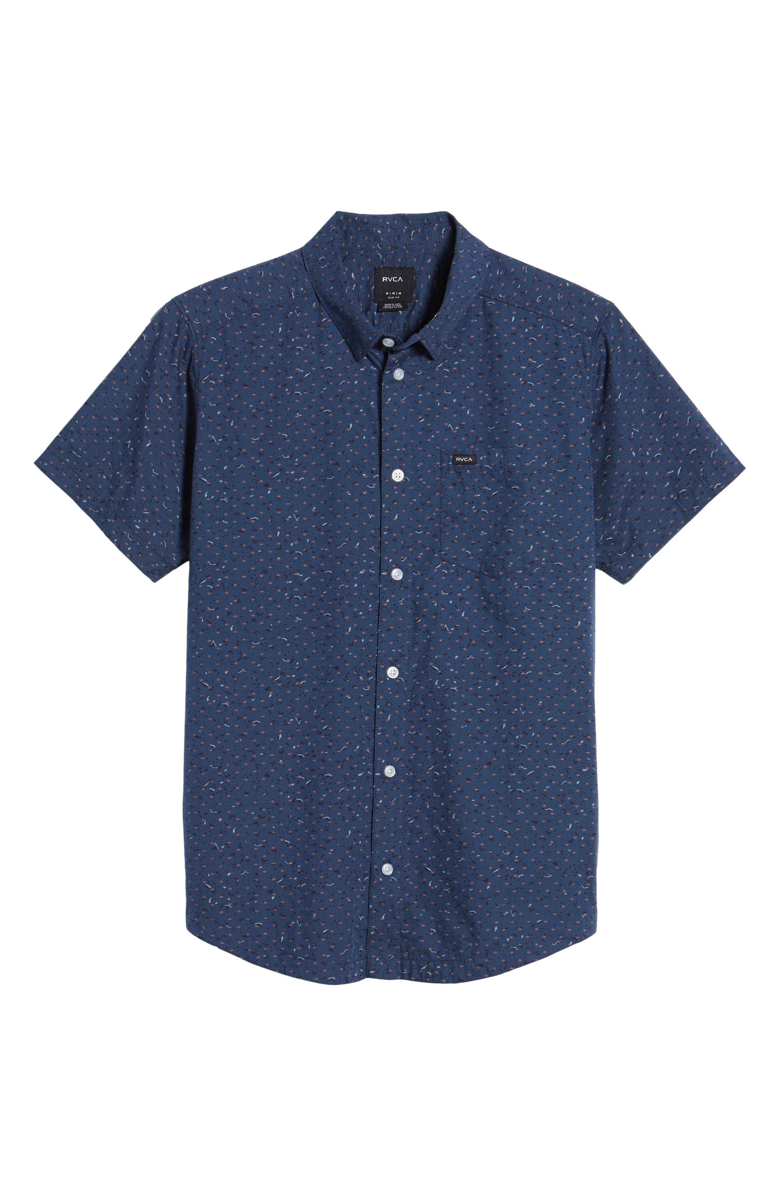 Jaded Woven Shirt,                             Alternate thumbnail 6, color,                             487