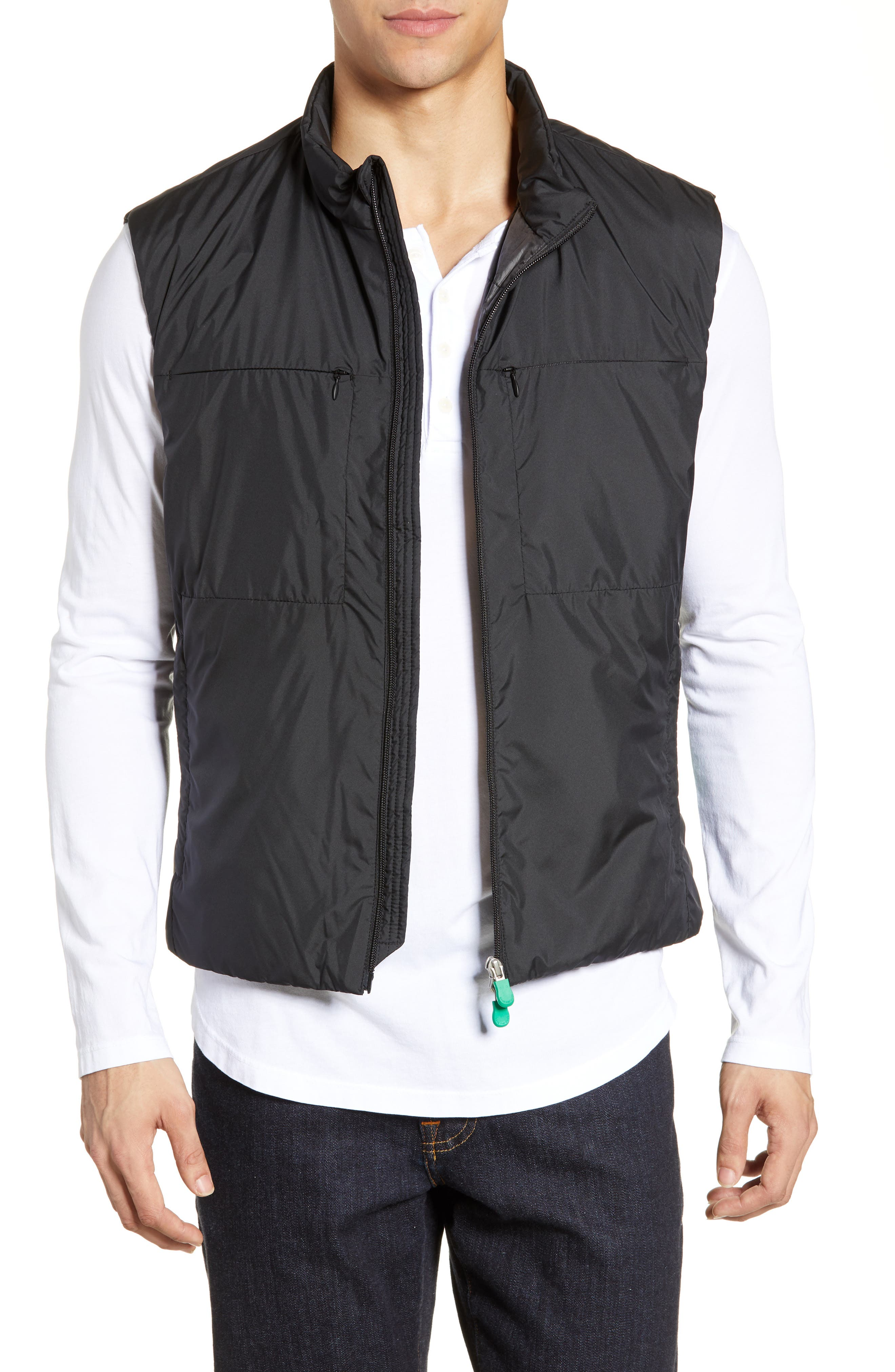 Save The Duck Recycled Polyester Vest, Black