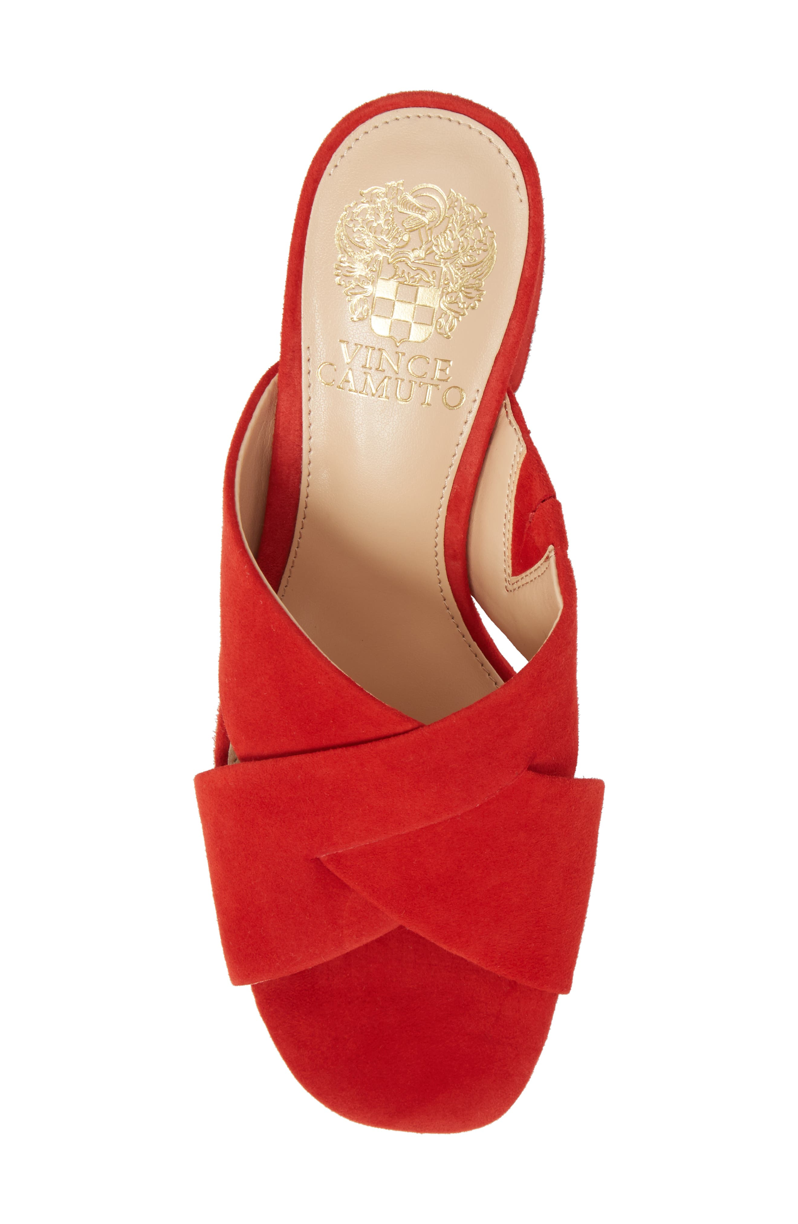 Stania Sandal,                             Alternate thumbnail 5, color,                             RED HOT RIO SUEDE