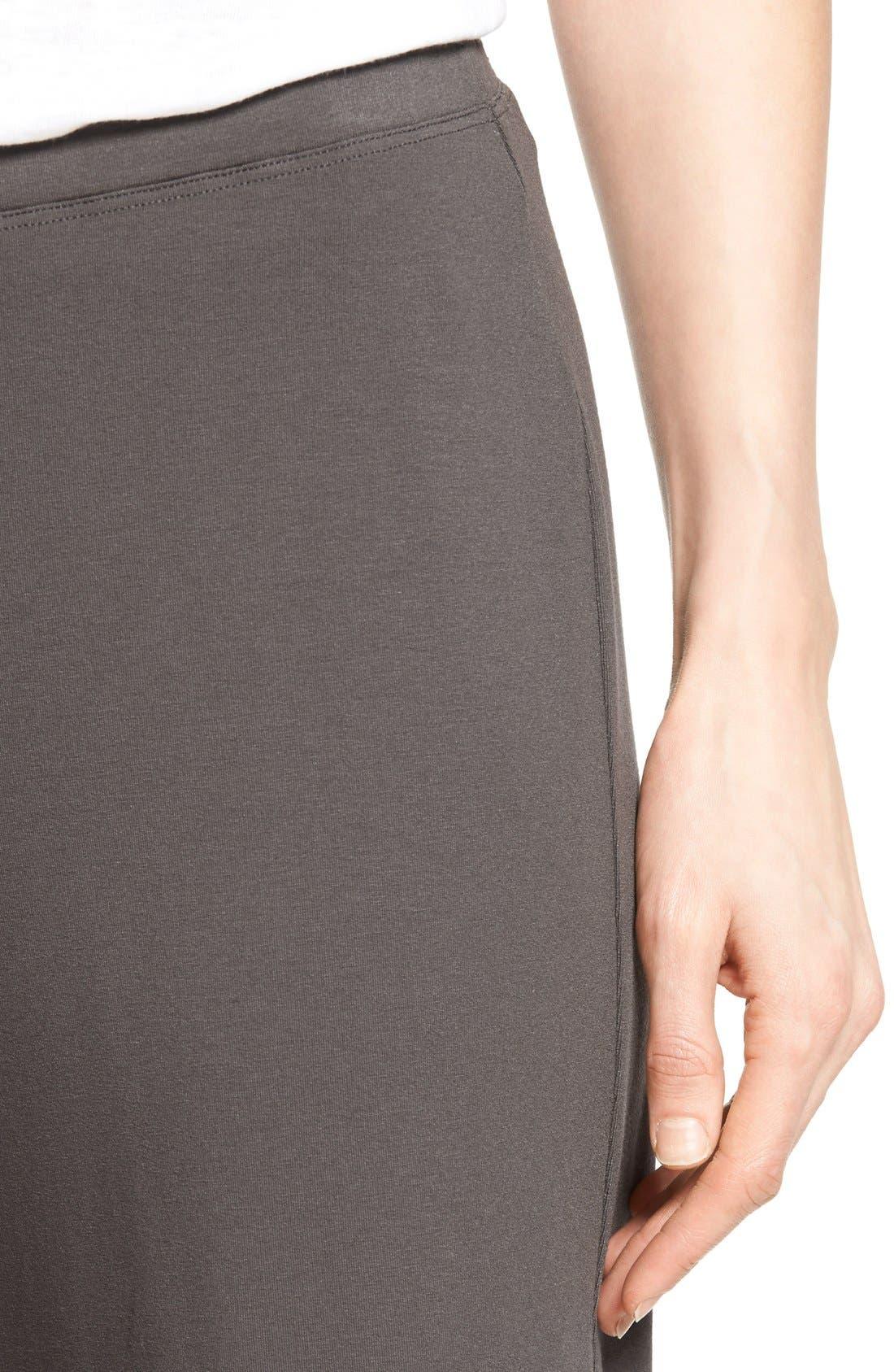 Crop Jersey Pants,                             Alternate thumbnail 6, color,