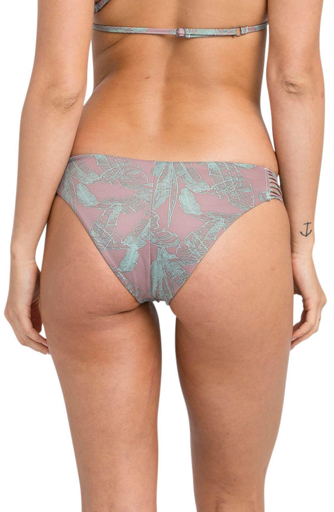 Palmer Reversible Cheeky Bikini Bottoms,                             Alternate thumbnail 3, color,                             500