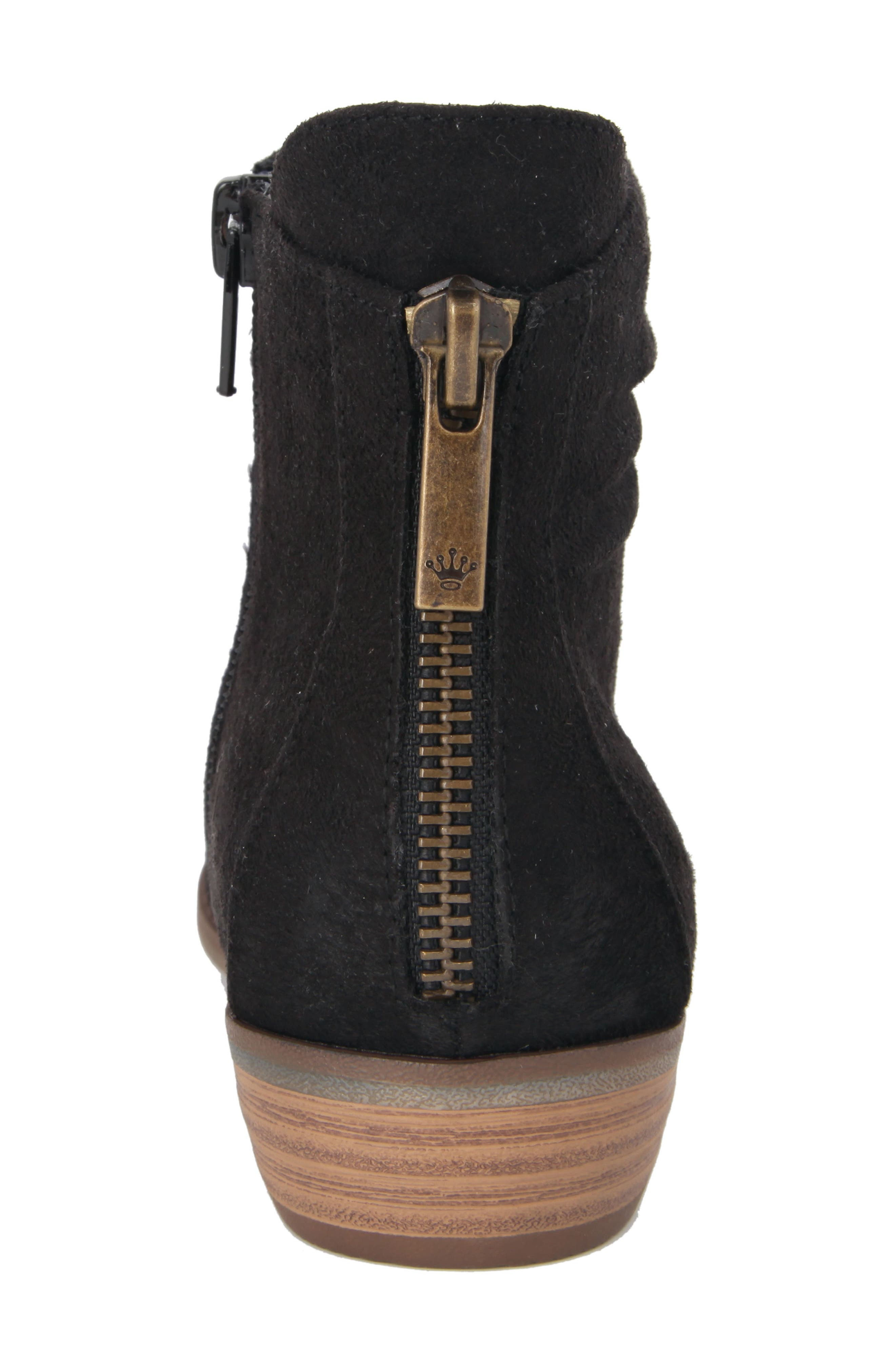 Delia Slightly Slouchy Bootie,                             Alternate thumbnail 6, color,                             003