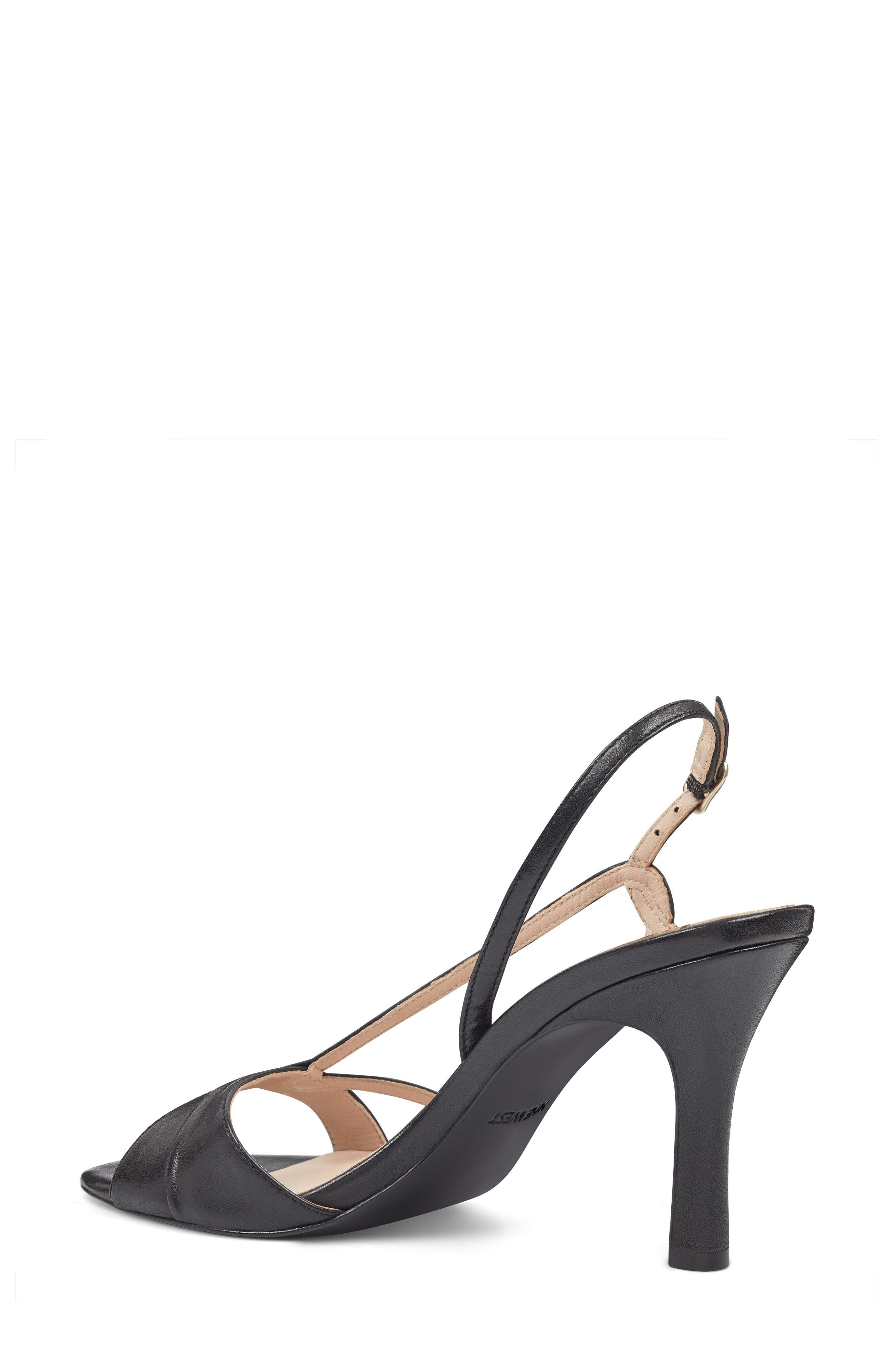 Accolia - 40th Anniversary Capsule Collection Sandal,                             Alternate thumbnail 2, color,                             BLACK LEATHER