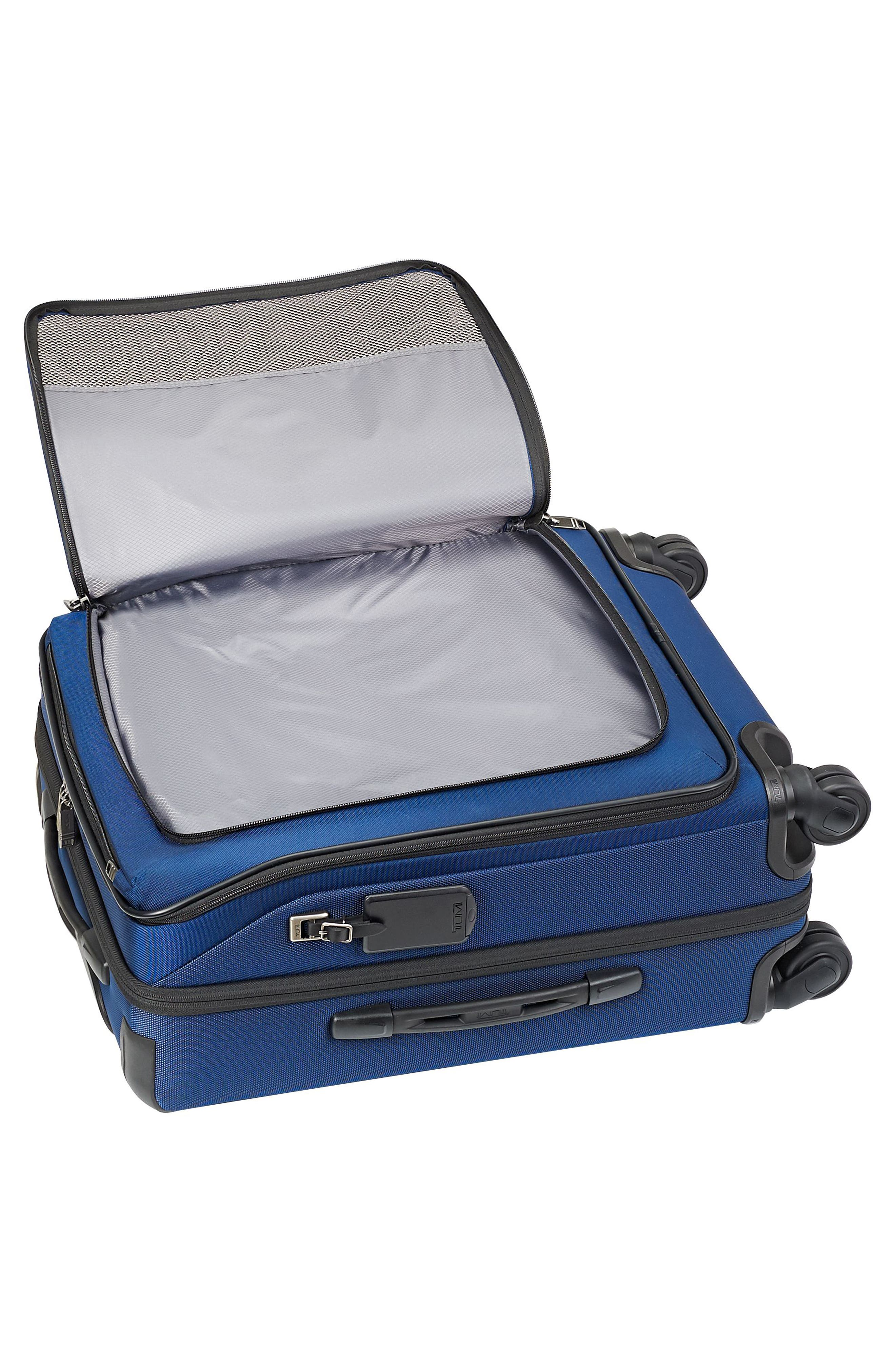 Merge - 22-Inch Continental Expandable Rolling Carry-On,                             Alternate thumbnail 6, color,                             OCEAN BLUE