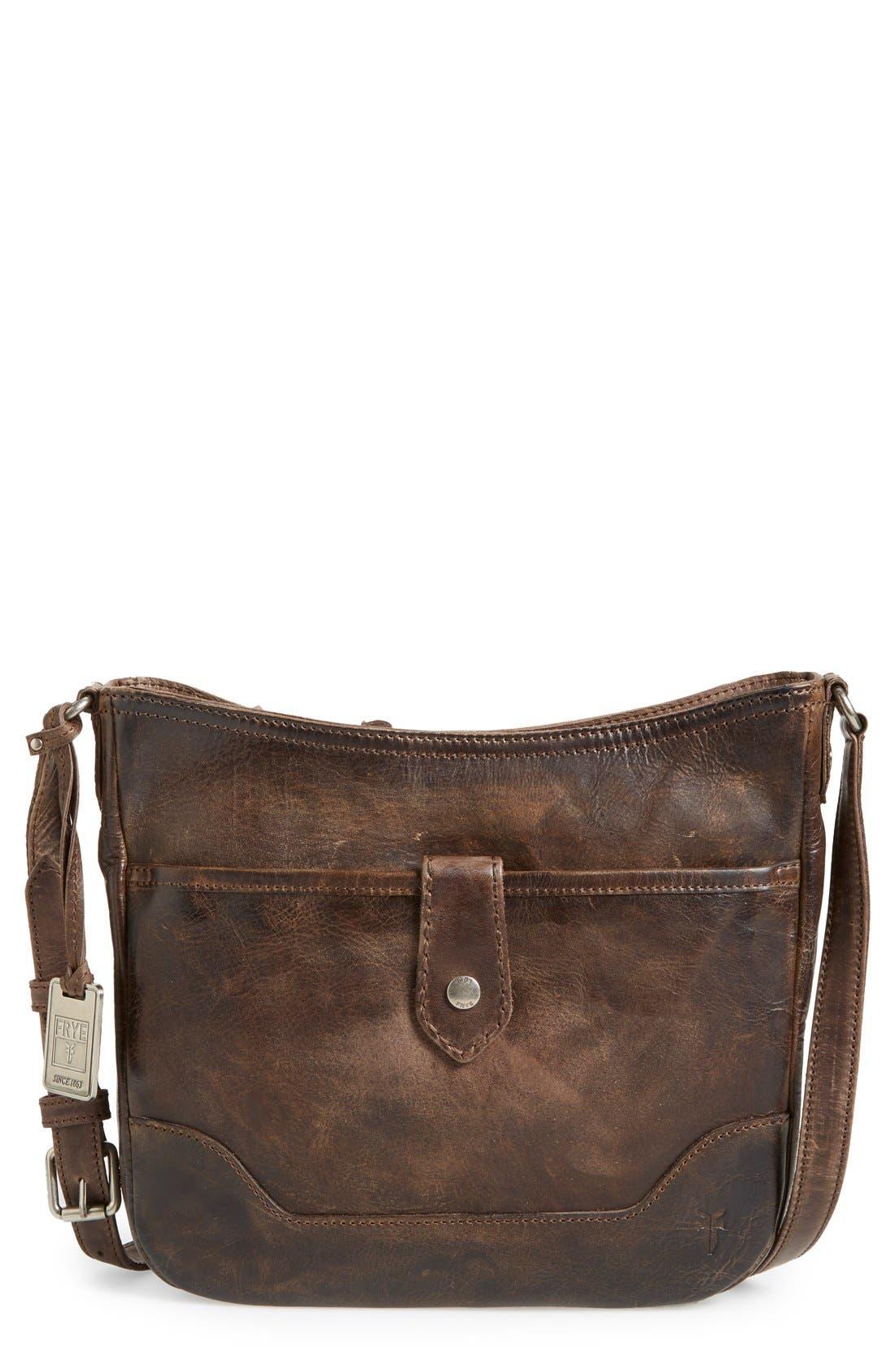 Melissa Button Crossbody Bag,                         Main,                         color, 020