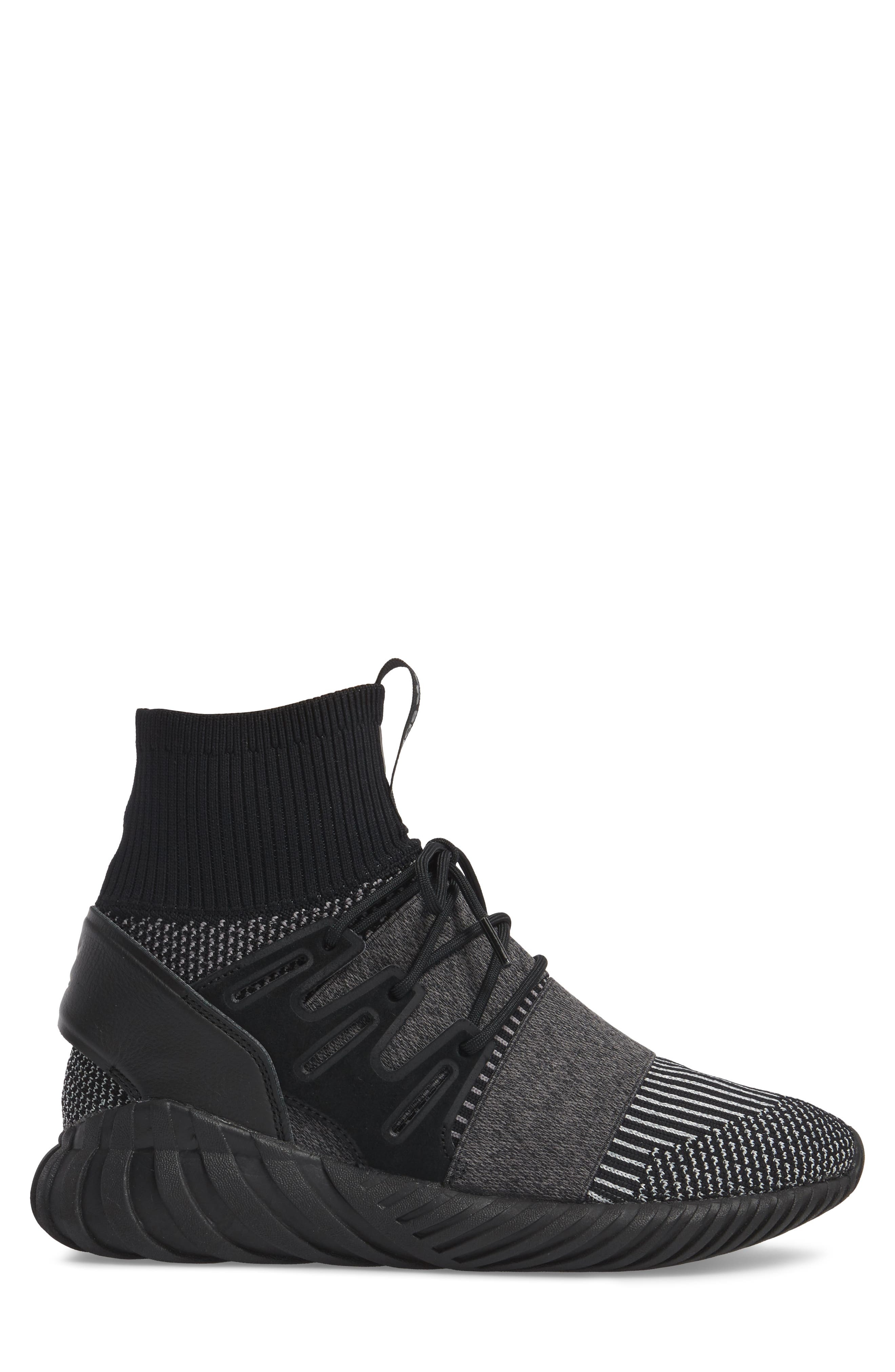 Tubular Doom Primeknit Sneaker,                             Alternate thumbnail 3, color,                             006