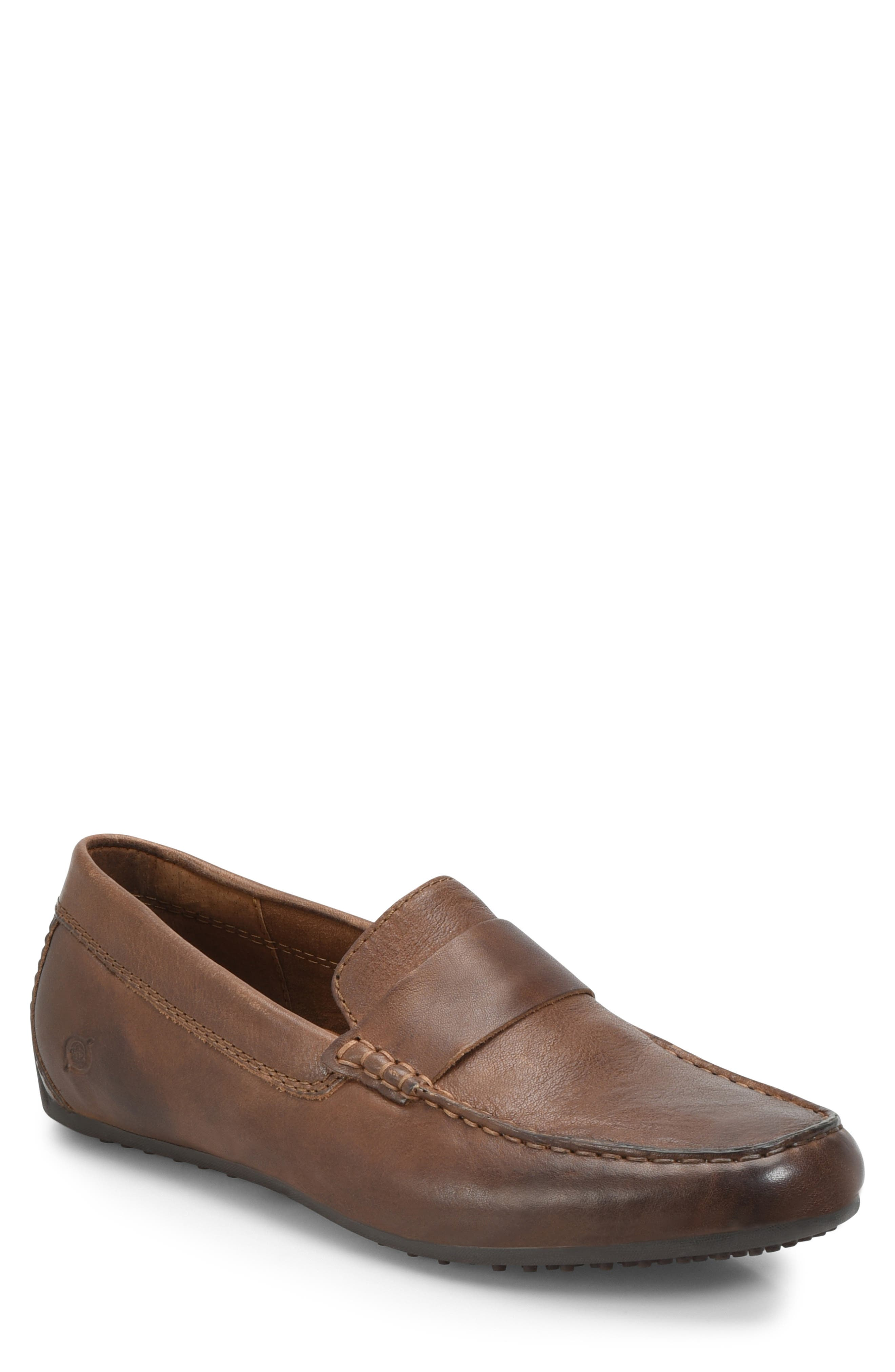 Ratner Driving Loafer,                         Main,                         color, BROWN LEATHER