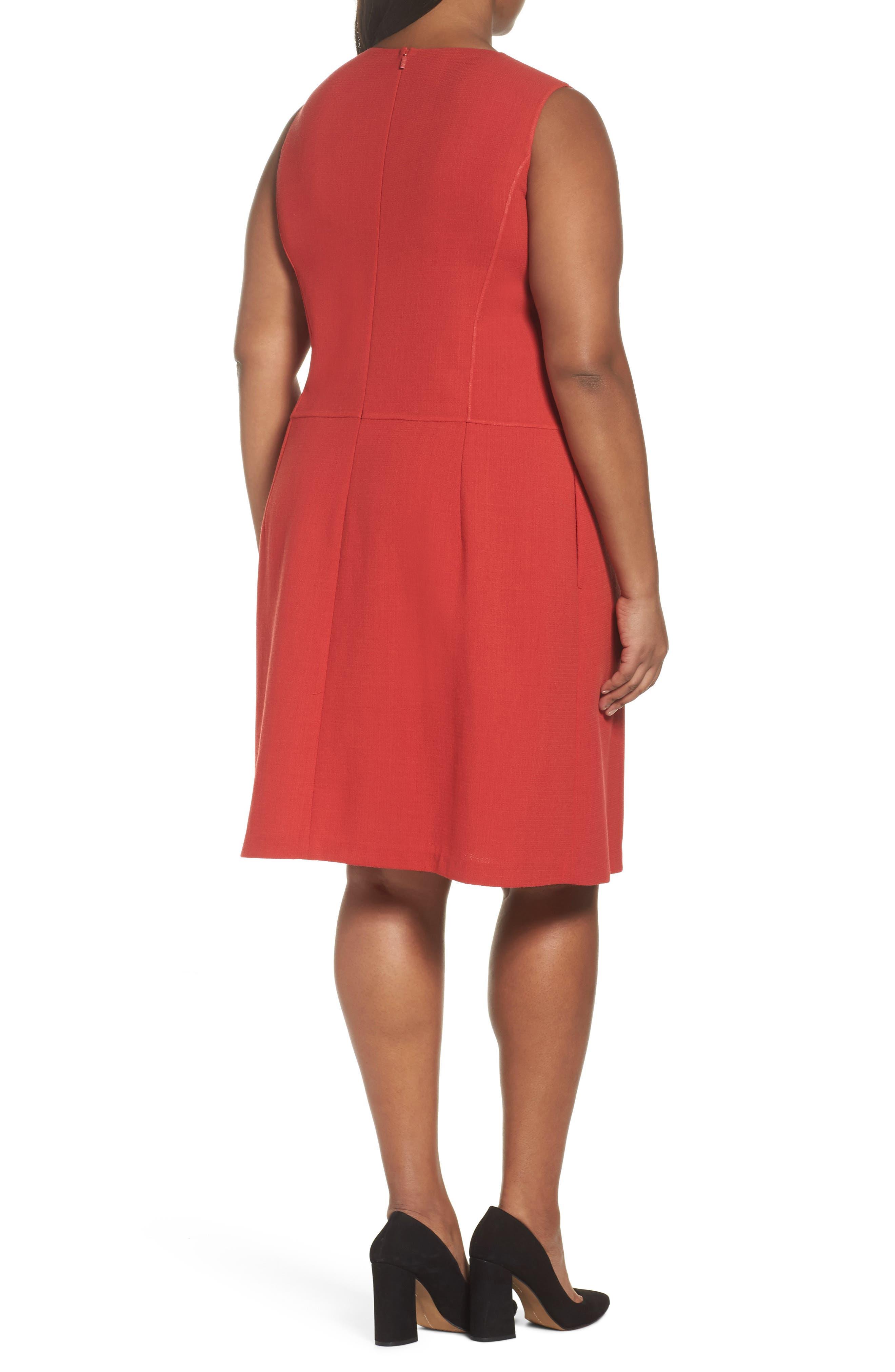 Selita Nouveau Crepe Dress,                             Alternate thumbnail 2, color,                             892