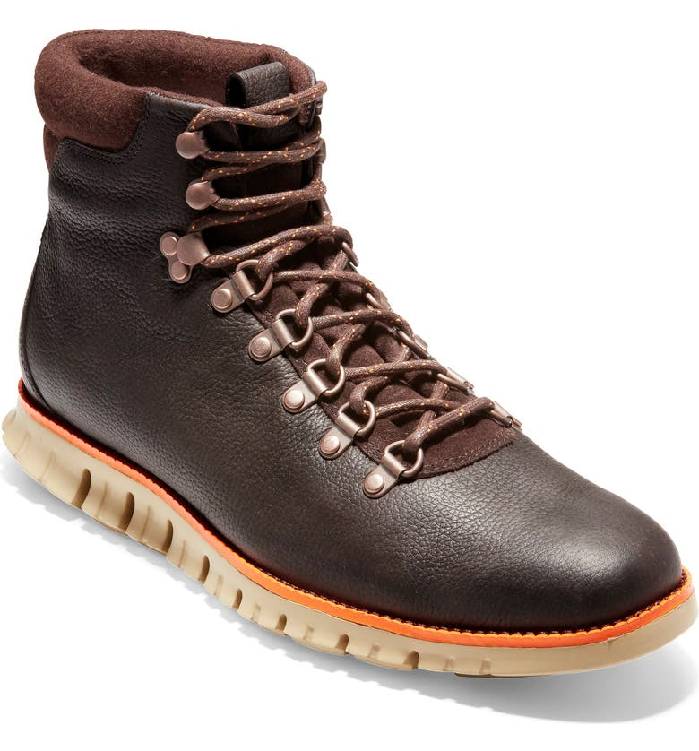 fe18f687d313 Cole Haan Zerogrand Water Resistant Hiker Boot In Java Leather ...