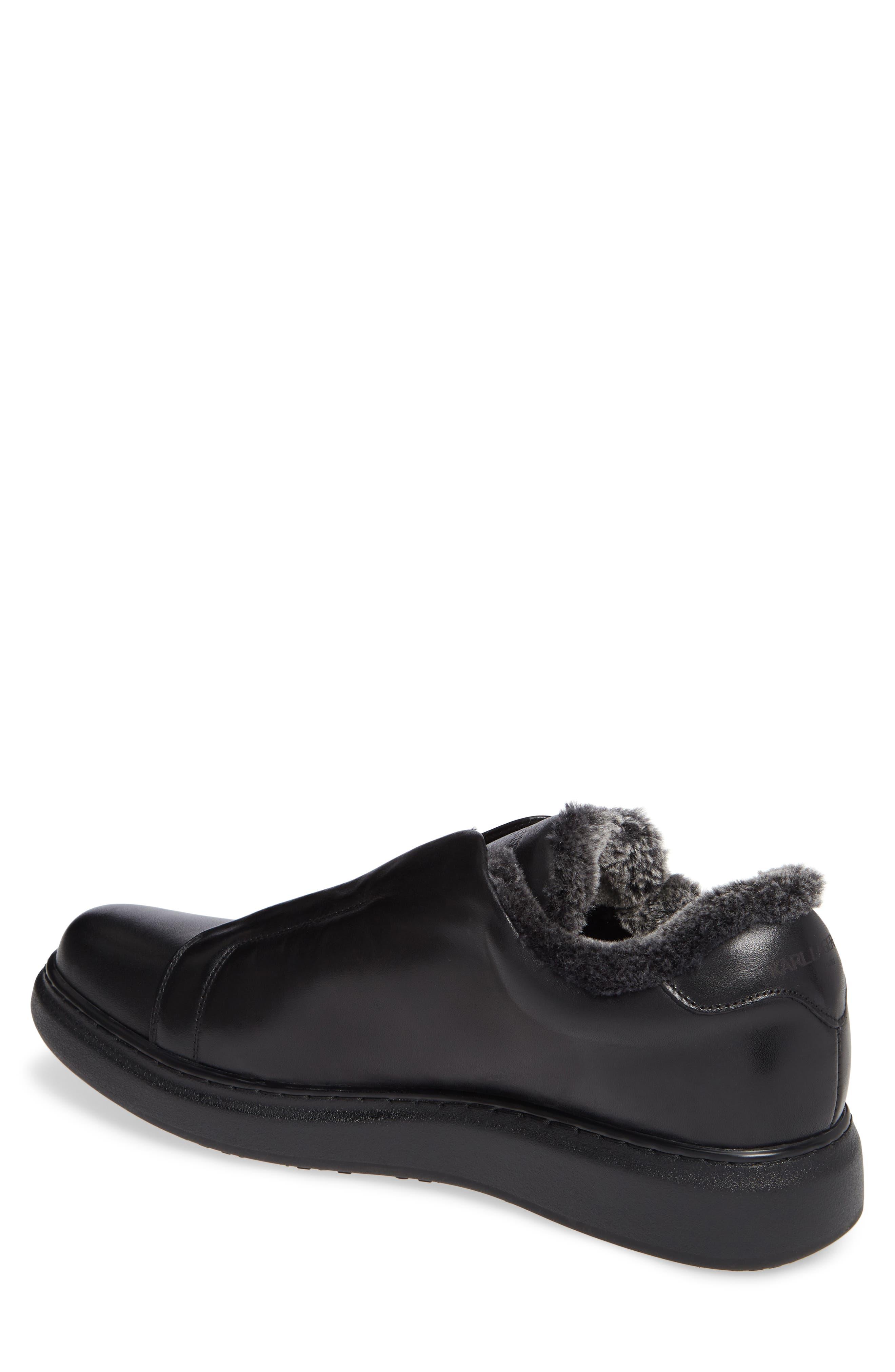 Laceless Sneaker,                             Alternate thumbnail 2, color,                             BLACK