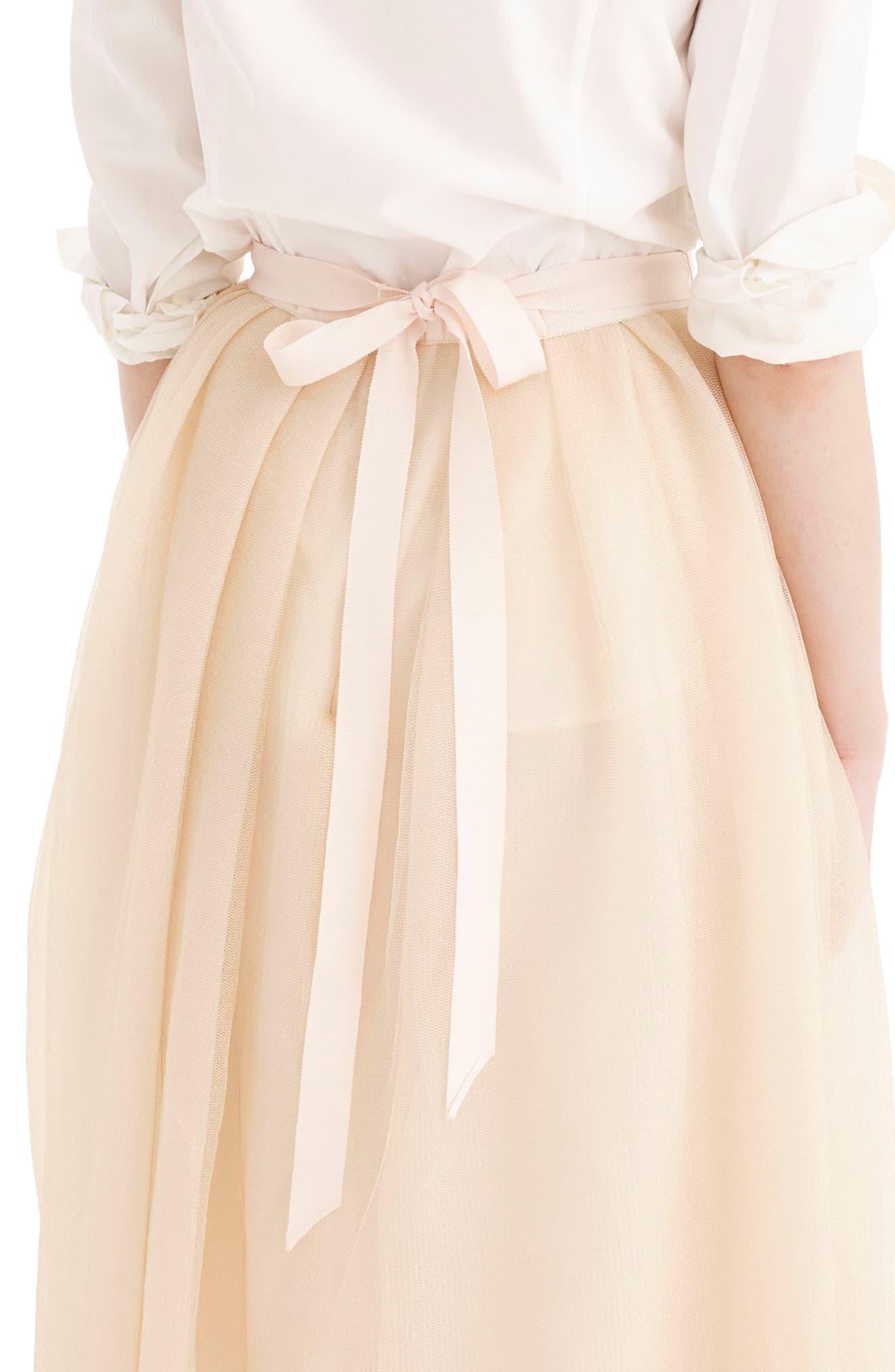 Tulle Ball Skirt,                             Alternate thumbnail 4, color,                             700