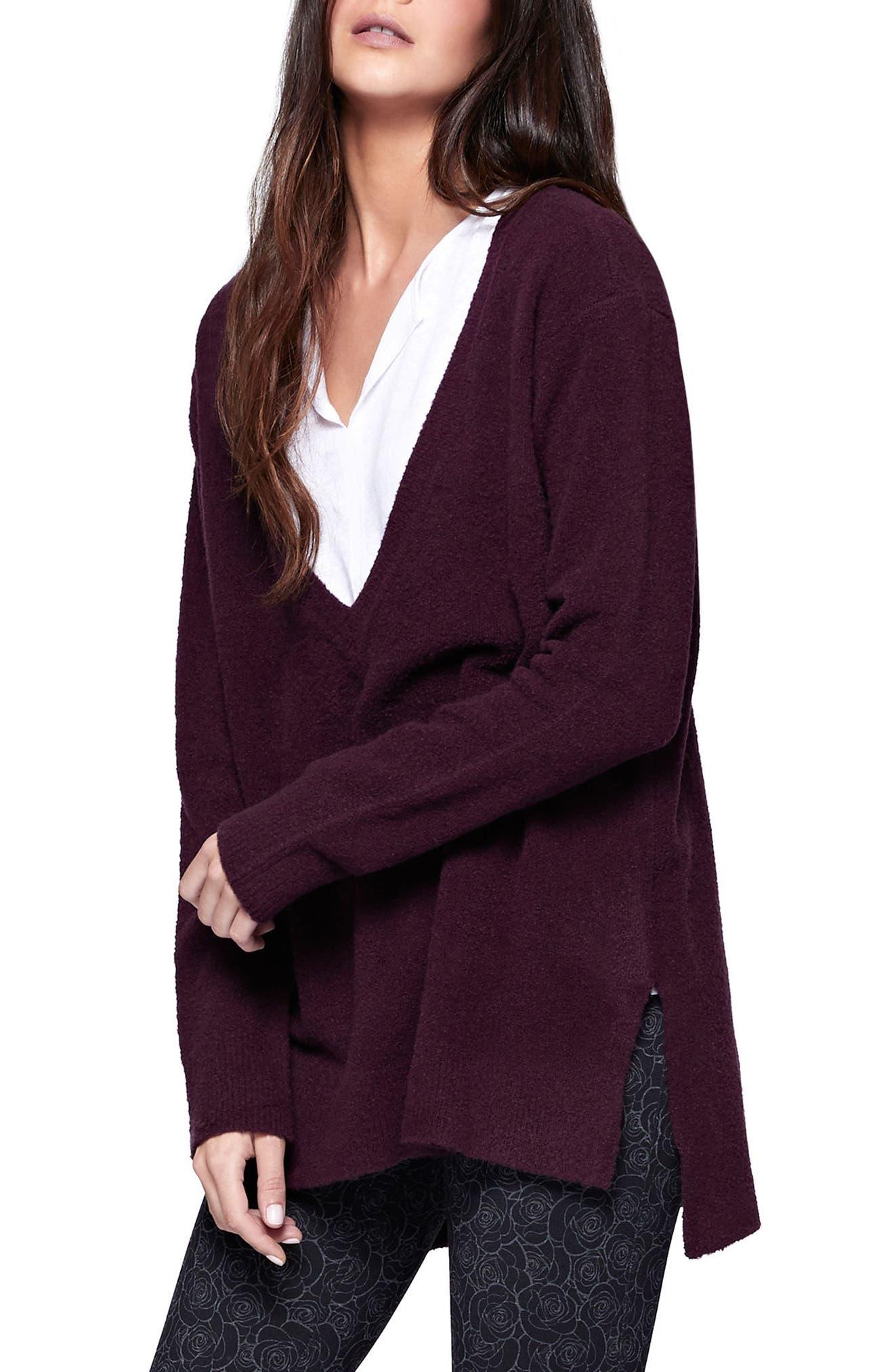 Santuary Delancey V-Neck Sweater,                             Alternate thumbnail 7, color,