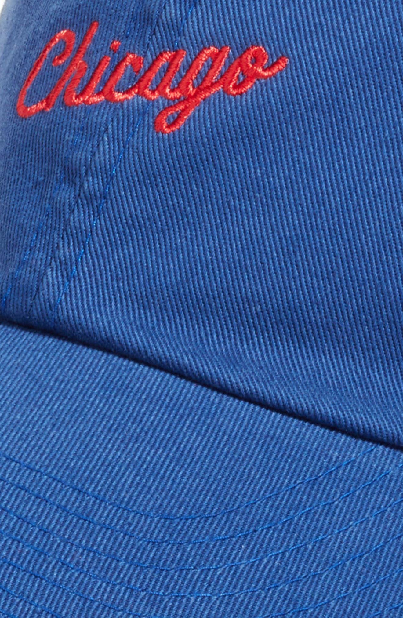 Boardshort - Chicago Baseball Cap,                             Alternate thumbnail 3, color,                             BAY BLUE