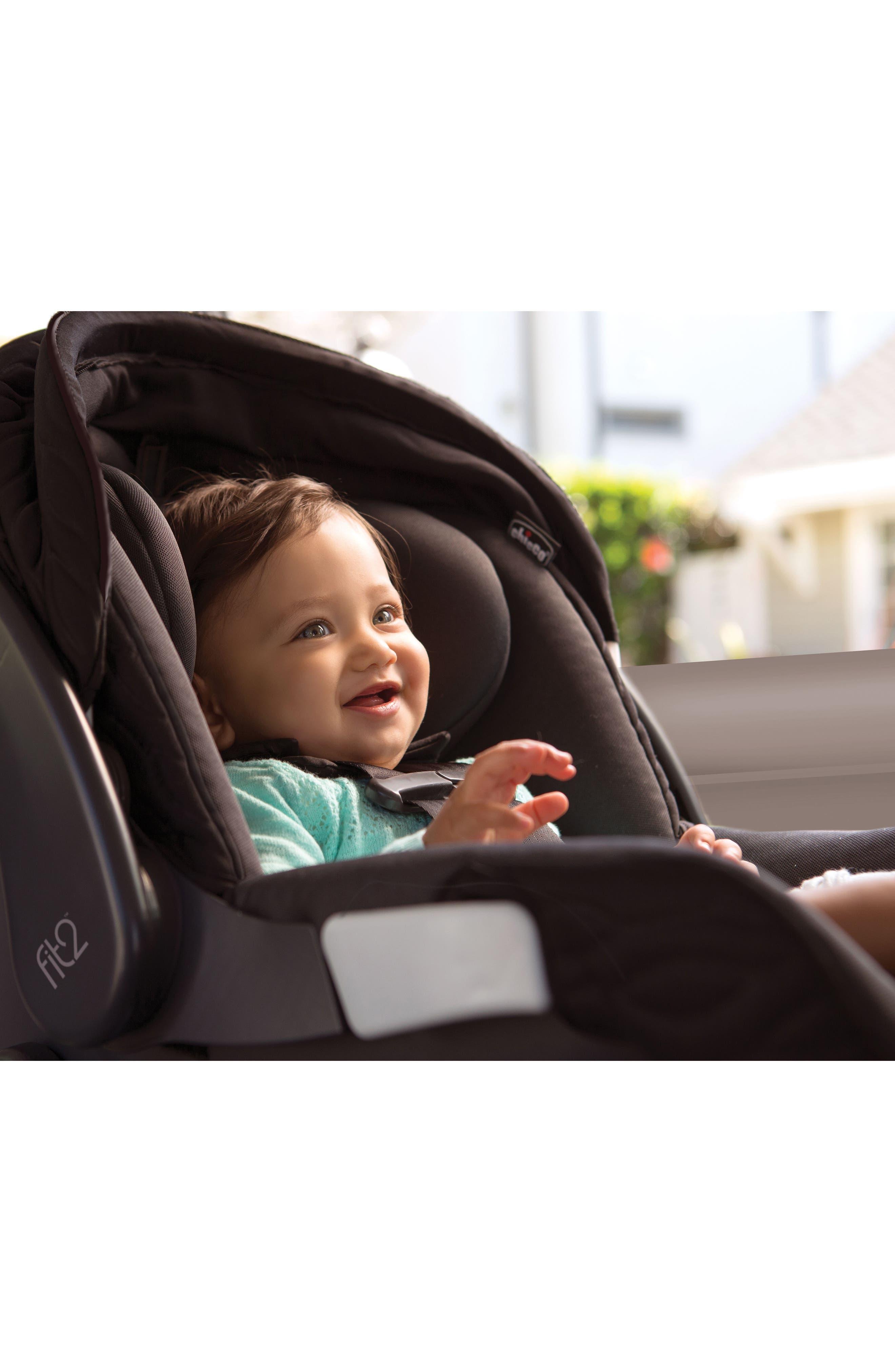 Fit2 2018 Rear-Facing Infant & Toddler Car Seat,                             Alternate thumbnail 5, color,                             001