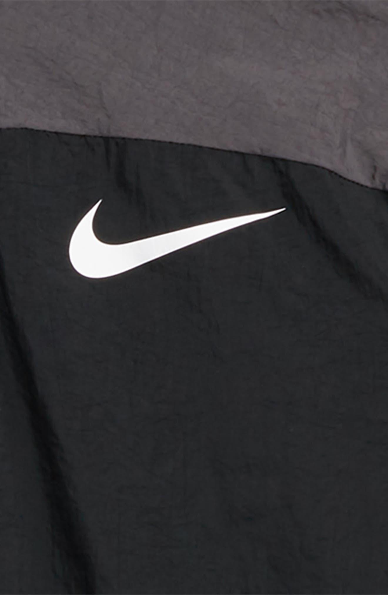 Dry Hooded Jacket,                             Alternate thumbnail 2, color,                             BLACK/ THUNDER GREY