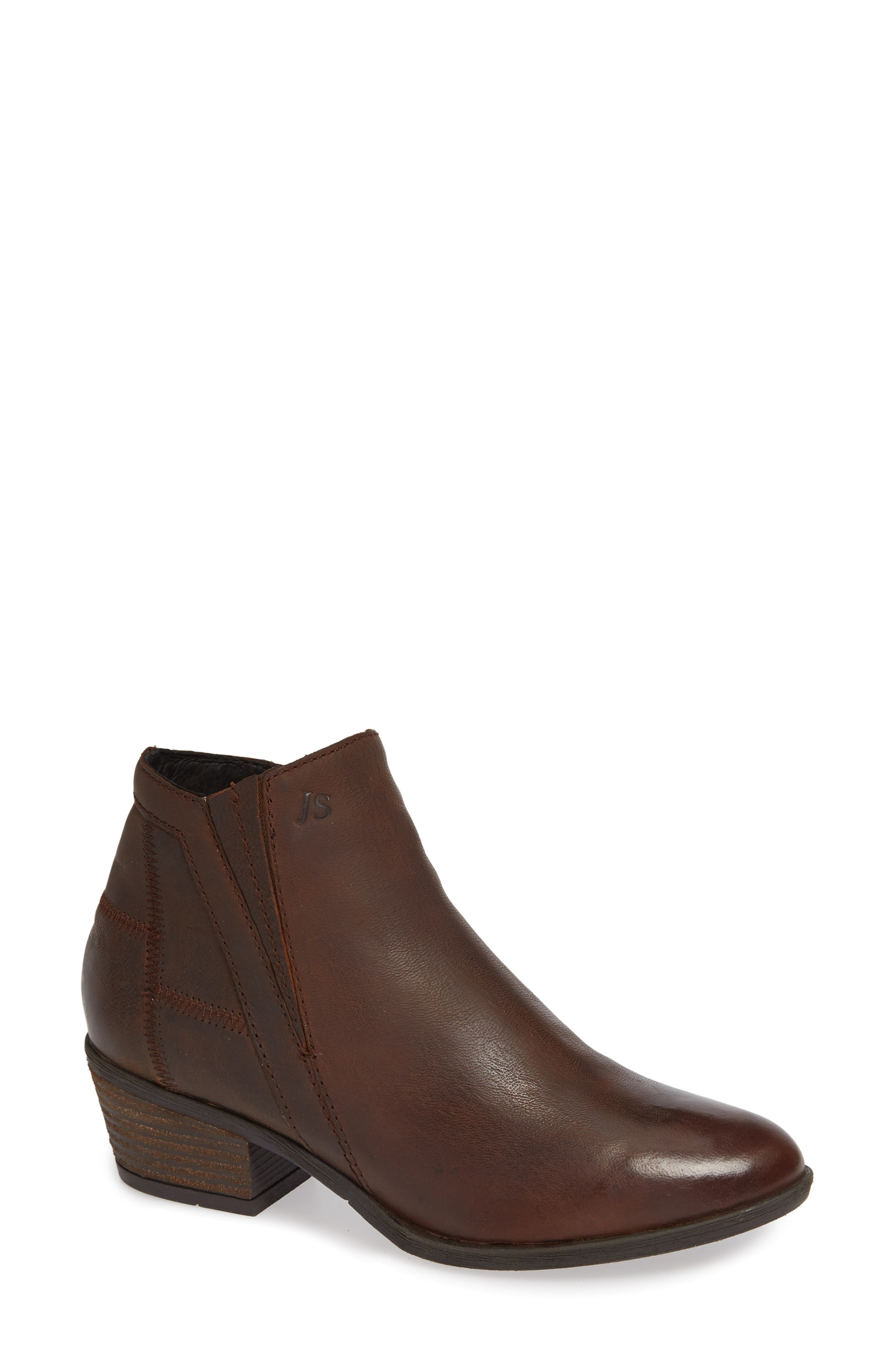 JOSEF SEIBEL,                             Daphne Bootie,                             Main thumbnail 1, color,                             MORO WASHED LEATHER
