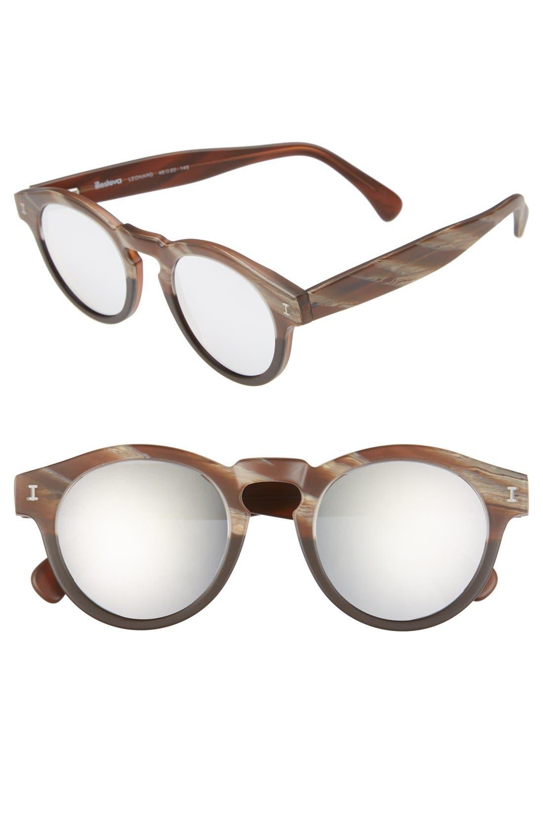 'Leonard' 47mm Sunglasses,                             Main thumbnail 49, color,