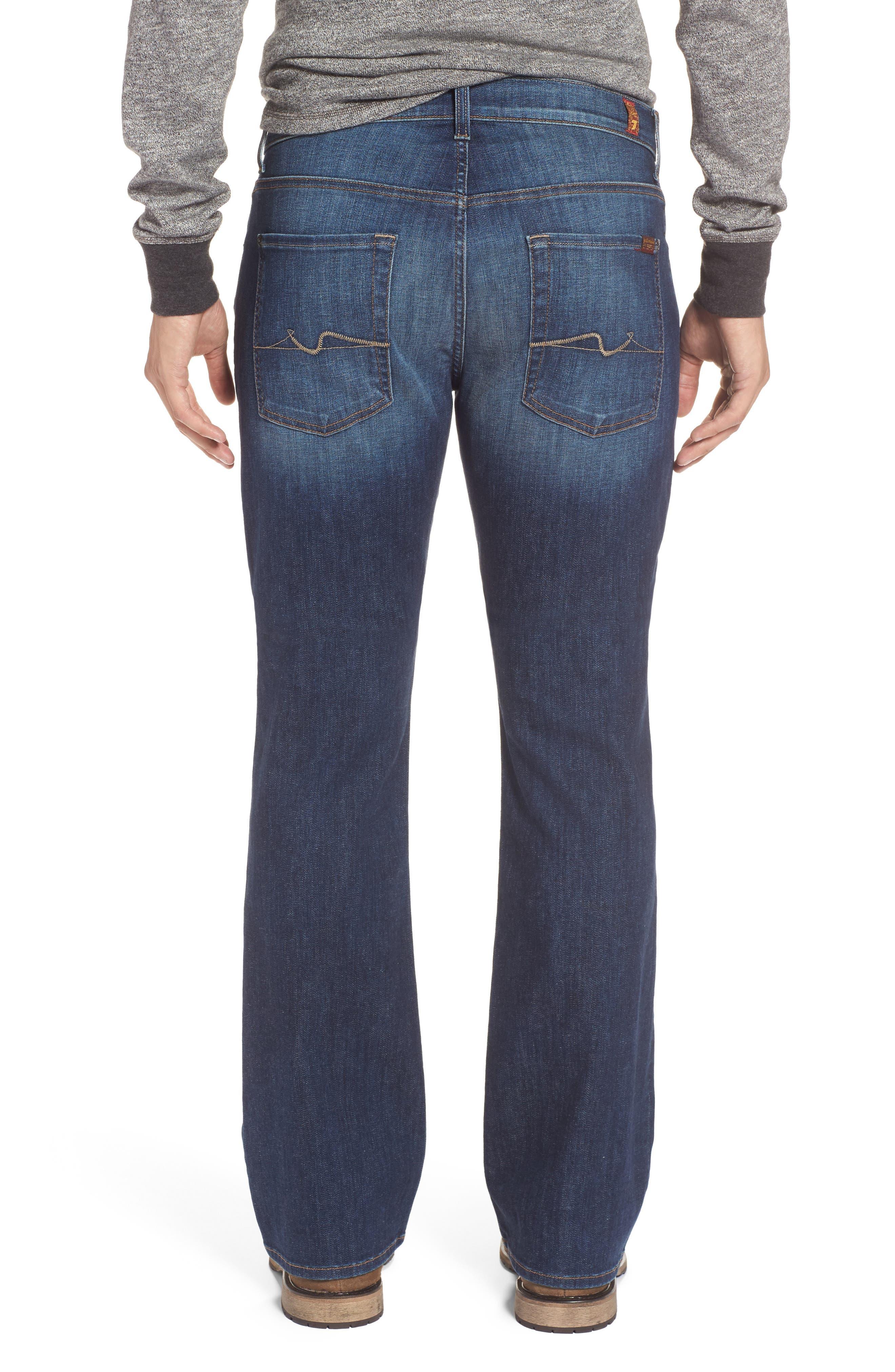 Brett Bootcut Jeans,                             Alternate thumbnail 2, color,                             400