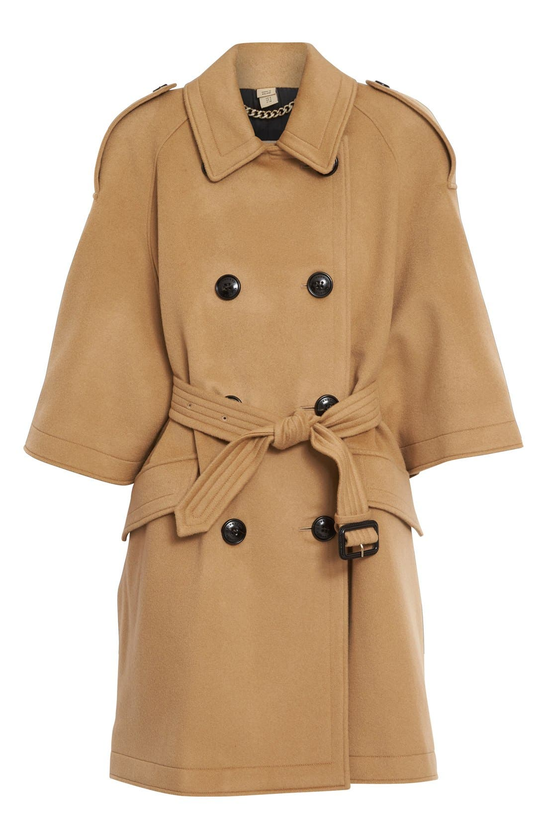 Dennington Trench Cape Coat,                             Alternate thumbnail 4, color,                             231