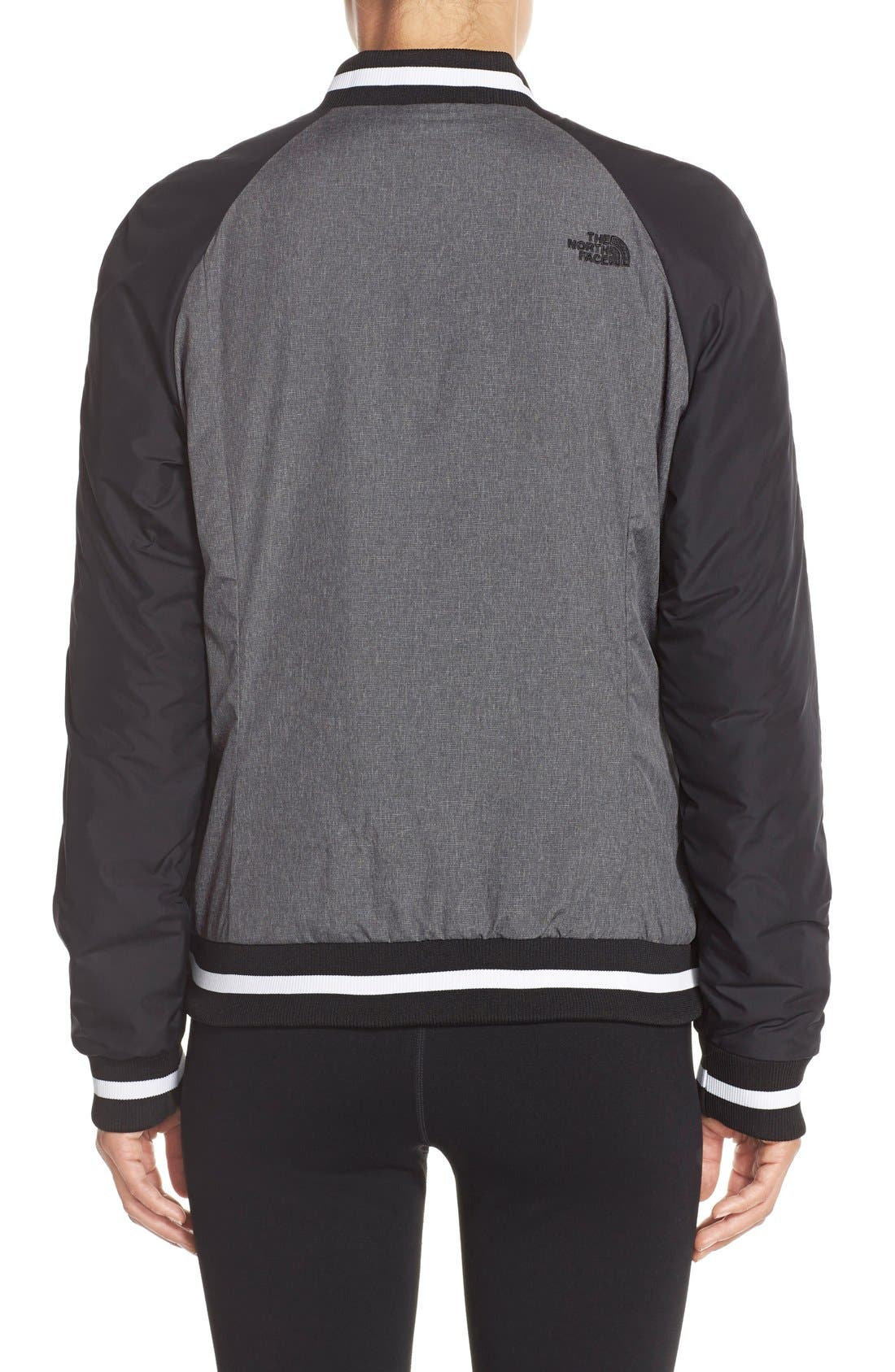 'Rydell' Water Resistant Heatseeker<sup>™</sup> Insulated Bomber Jacket,                             Alternate thumbnail 3, color,                             001