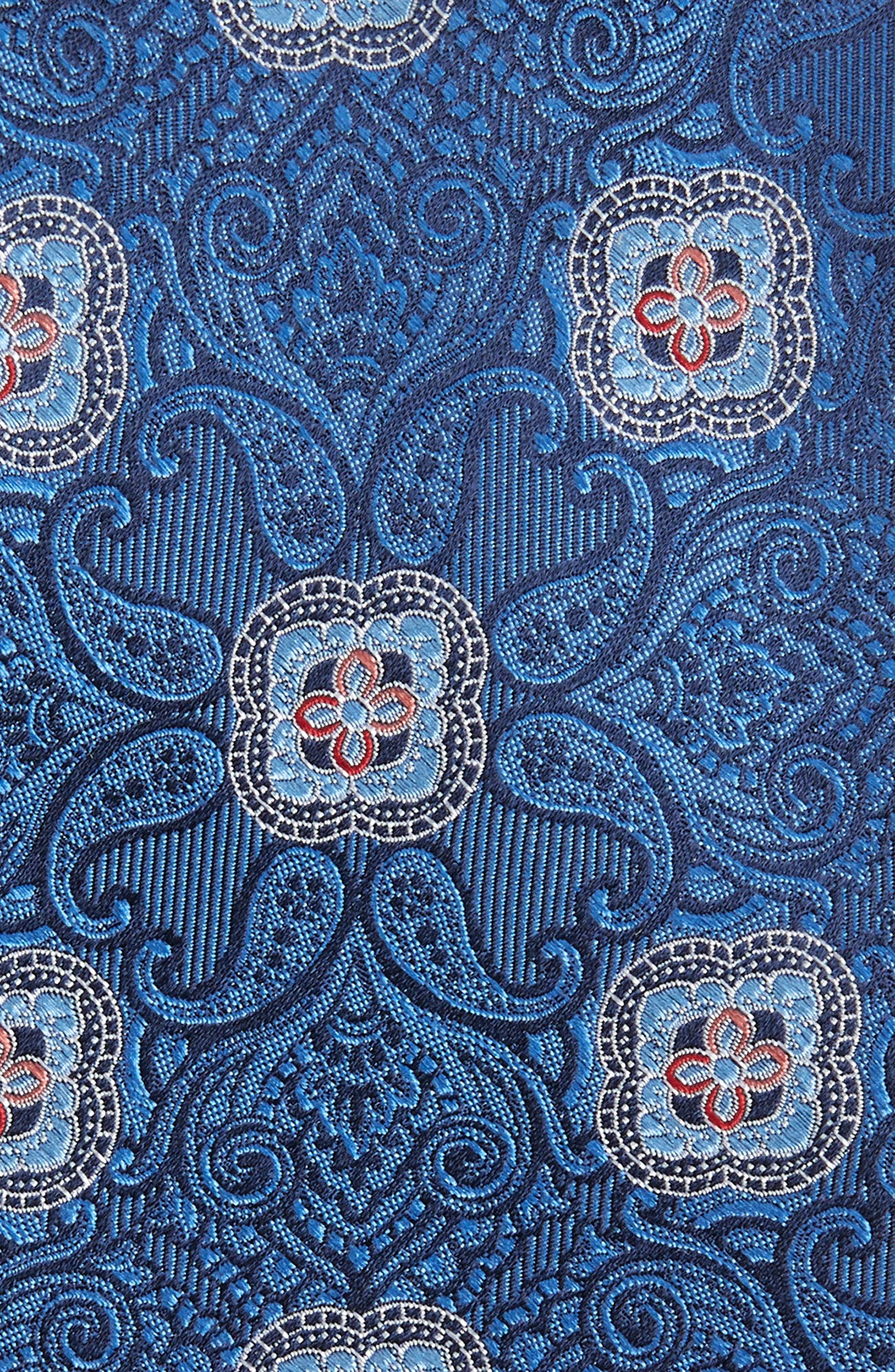Alvarez Medallion Silk Tie,                             Alternate thumbnail 2, color,                             400
