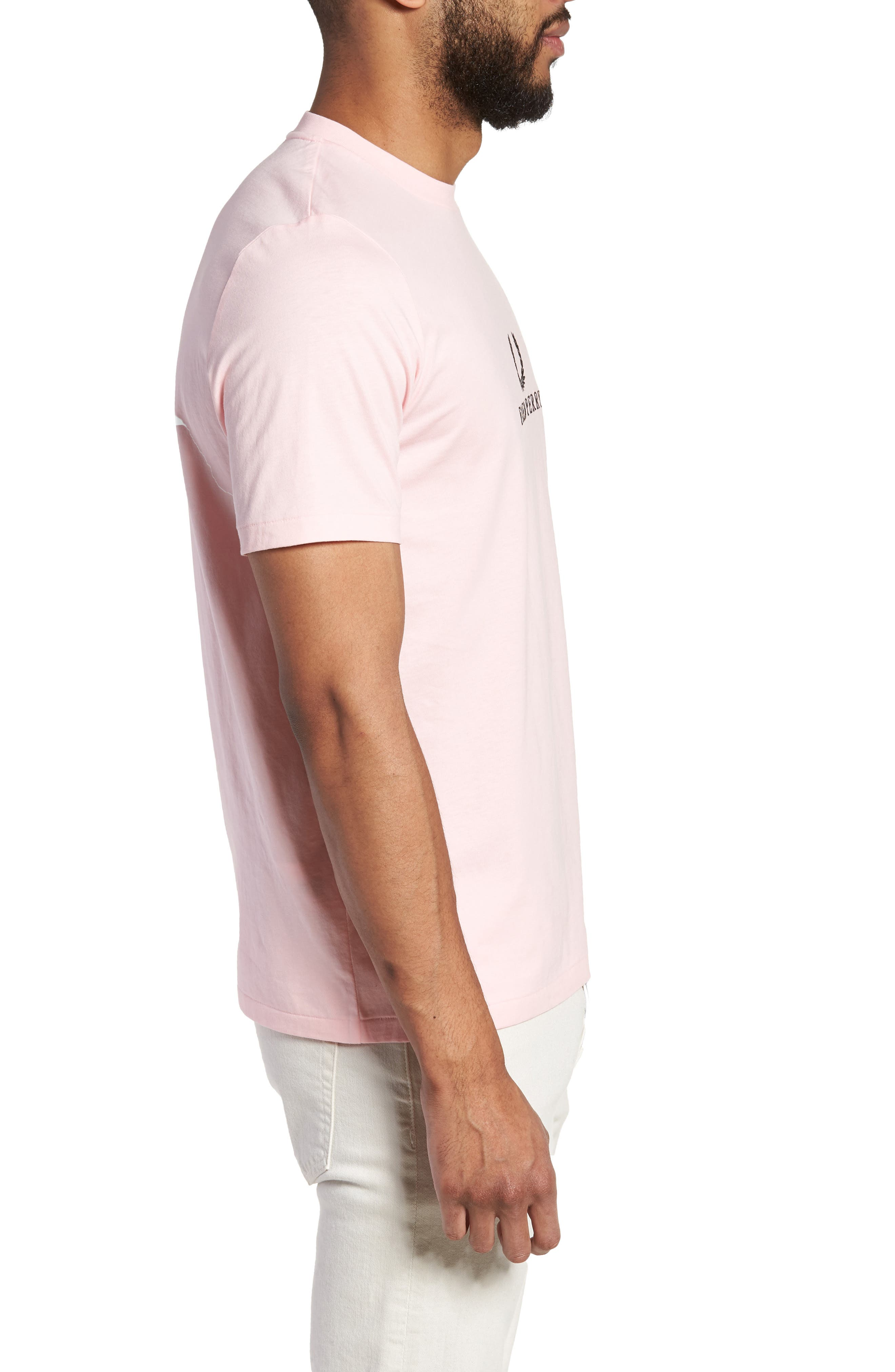 Embroidered T-Shirt,                             Alternate thumbnail 8, color,
