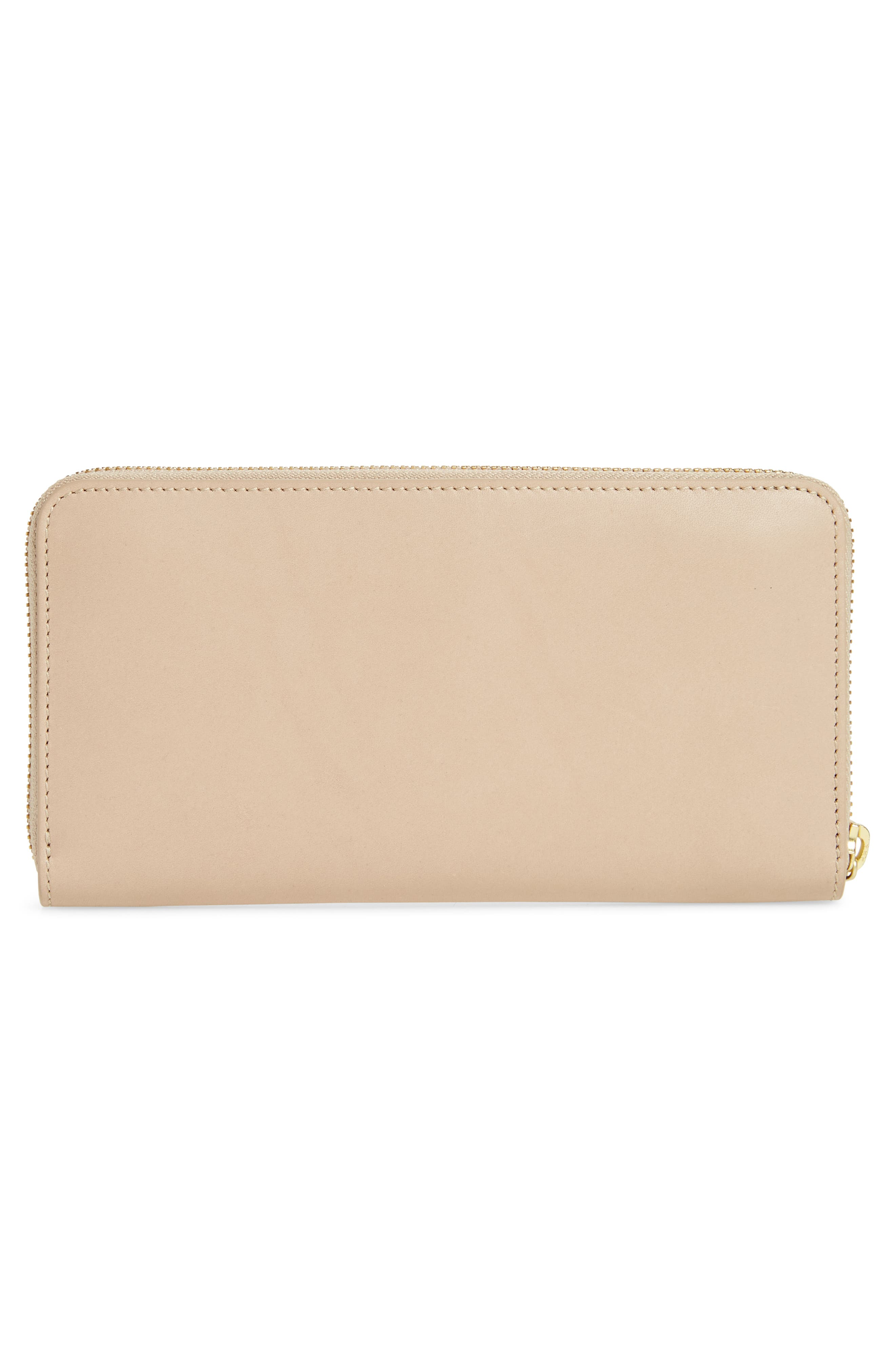 Leather Continental Wallet,                             Alternate thumbnail 3, color,                             251