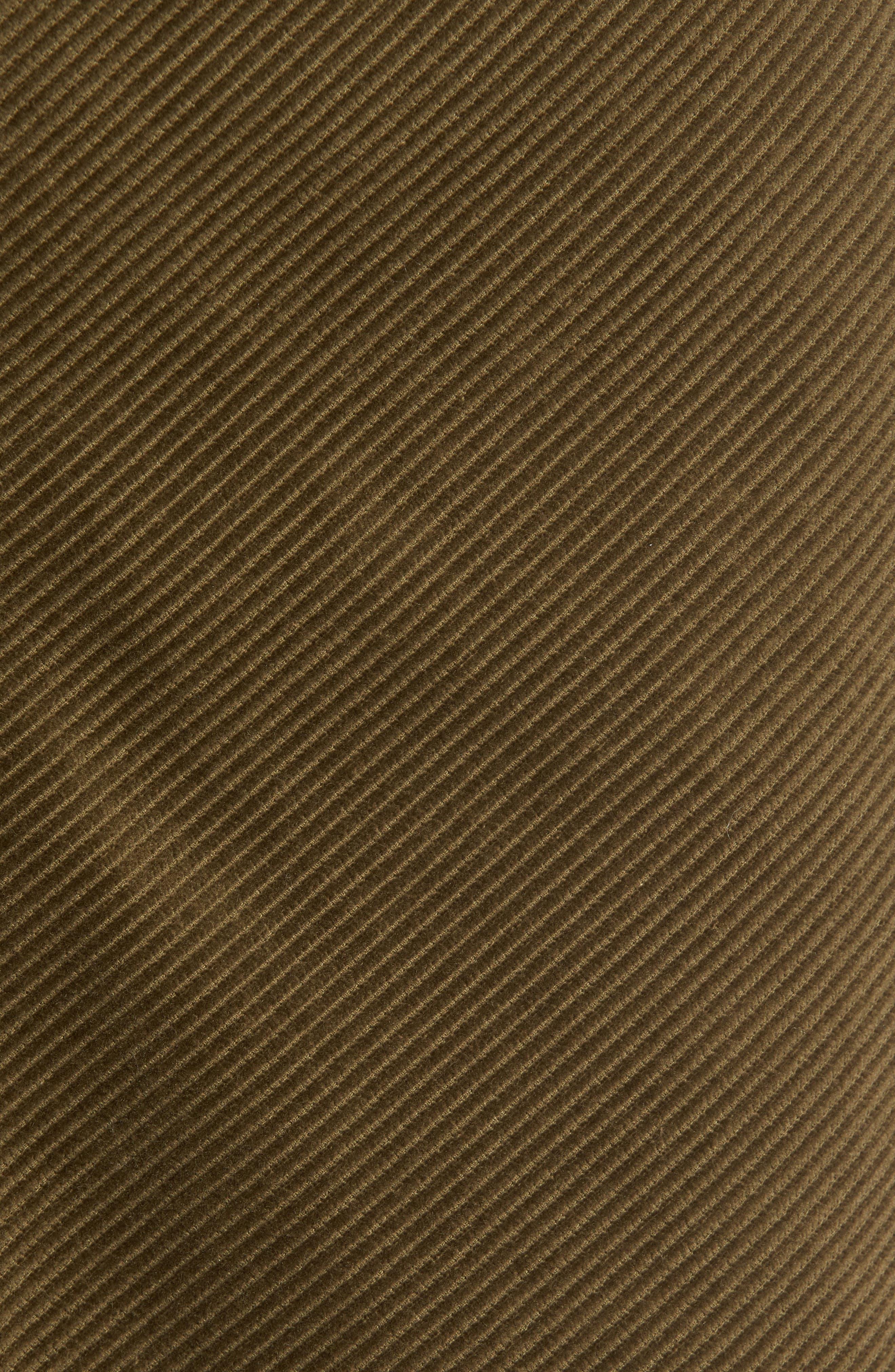 Corduroy A-Line Miniskirt,                             Alternate thumbnail 5, color,                             311