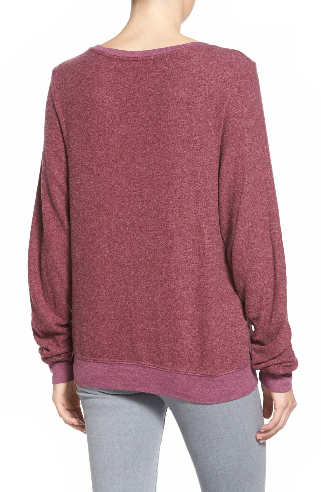 'Baggy Beach Jumper' Pullover,                             Alternate thumbnail 163, color,