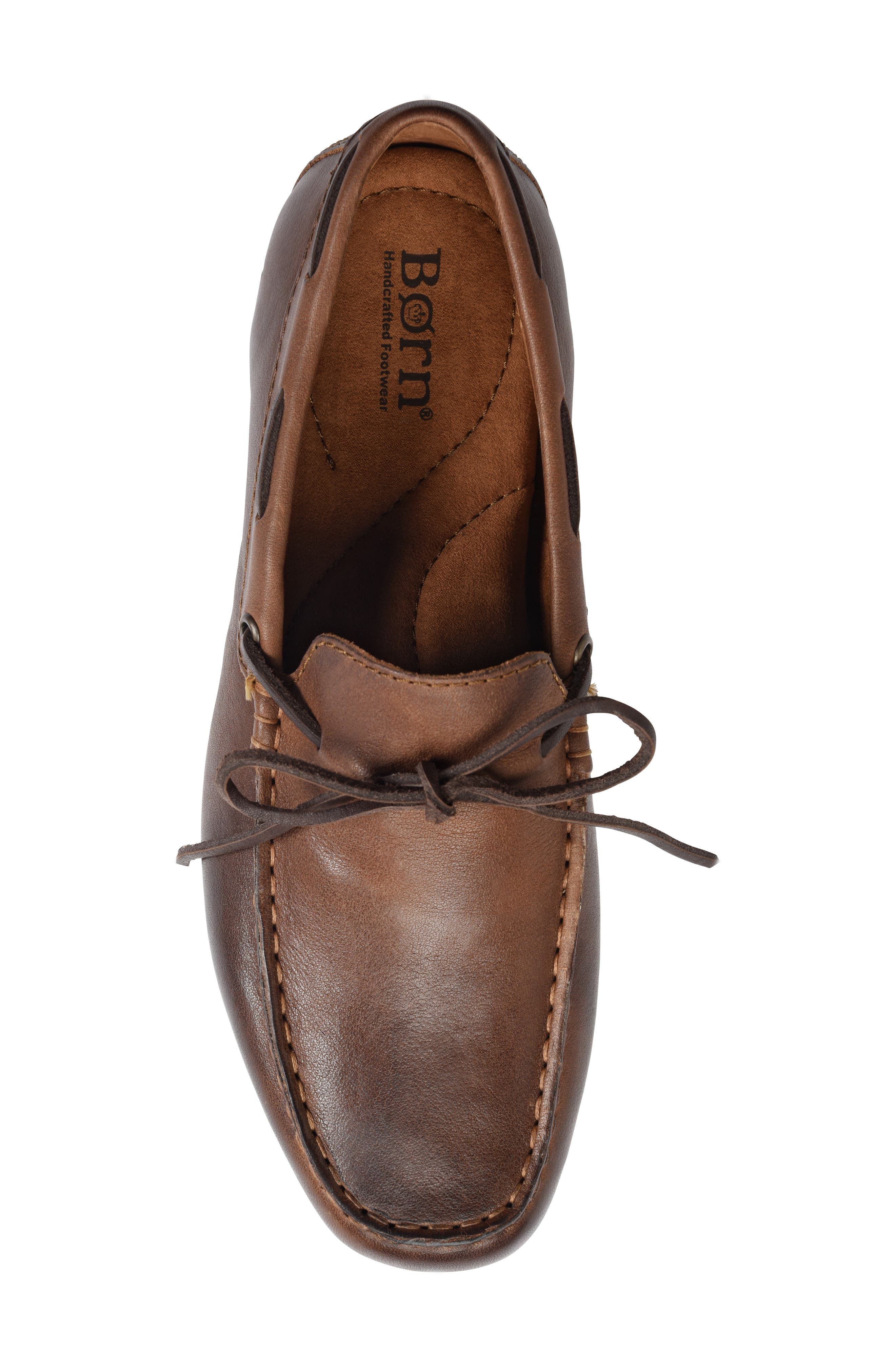 Virgo Driving Shoe,                             Alternate thumbnail 5, color,                             BROWN/BROWN LEATHER