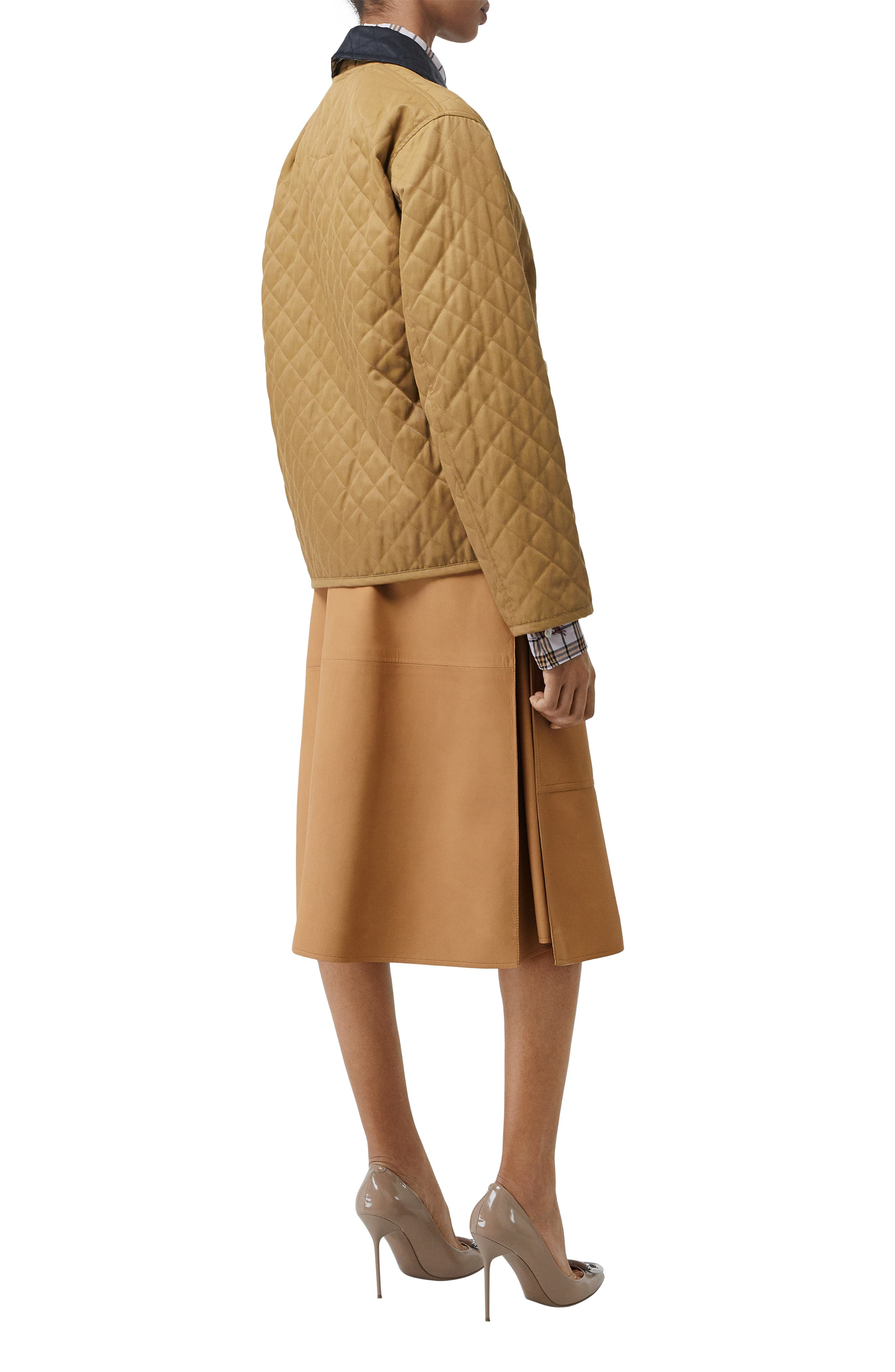 Dranefeld Quilted Jacket,                             Alternate thumbnail 6, color,                             CAMEL