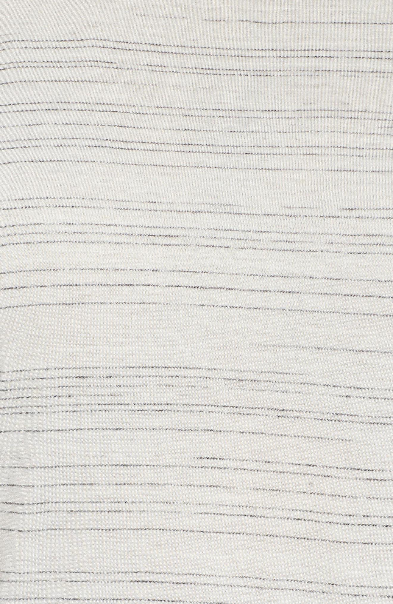 Cap Sleeve Asymmetrical Tee,                             Alternate thumbnail 5, color,                             900