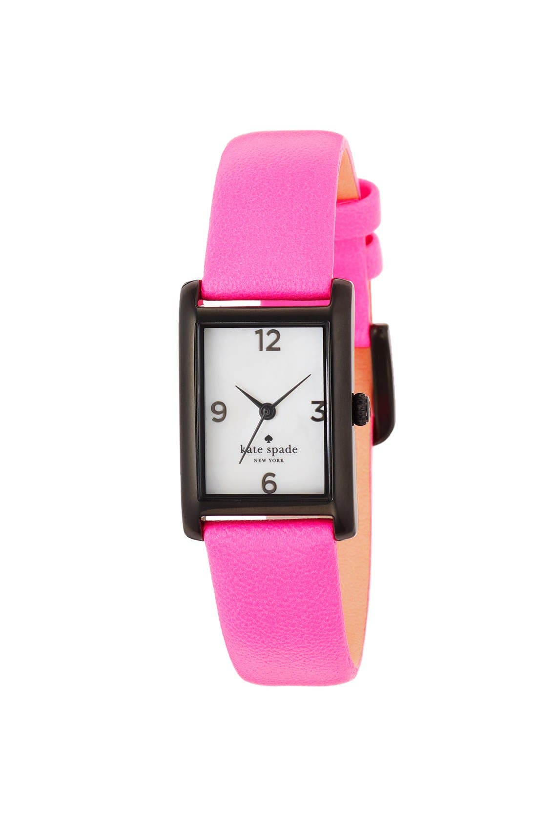 'cooper' leather strap watch, 21mm x 32mm,                             Alternate thumbnail 14, color,
