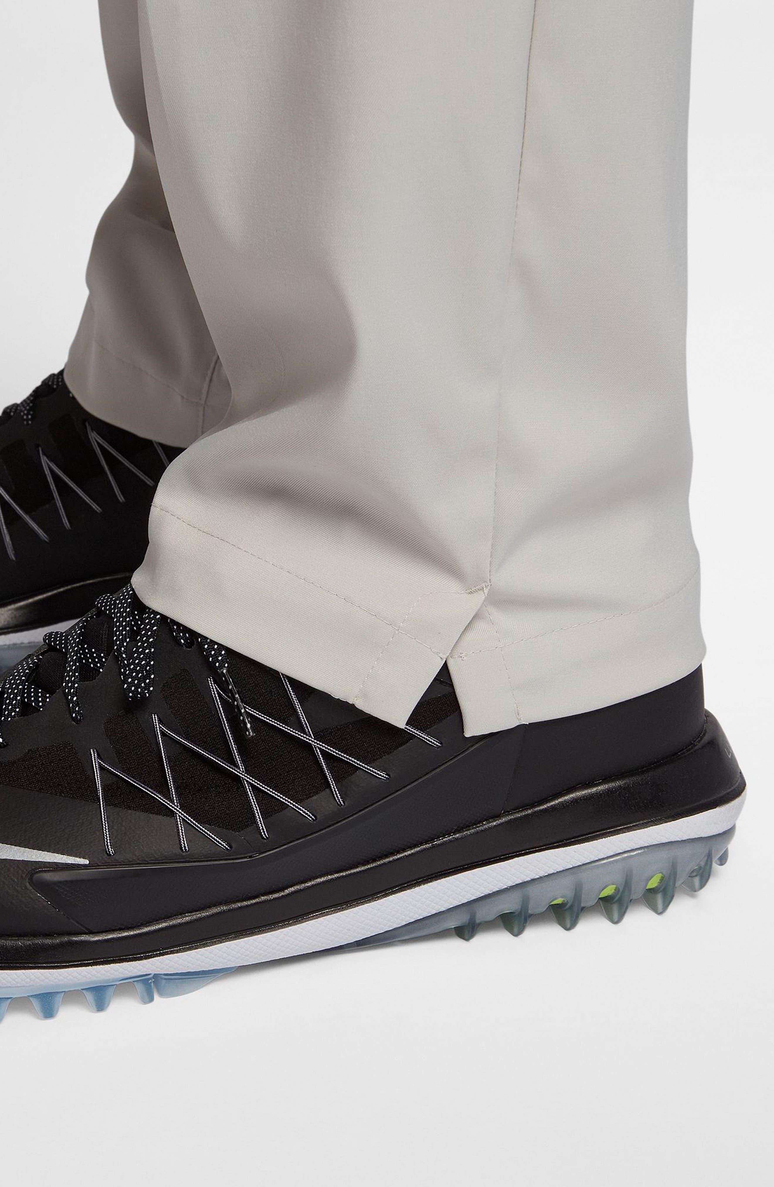 Flat Front Dri-FIT Tech Golf Pants,                             Alternate thumbnail 7, color,                             LIGHT BONE/ LIGHT BONE