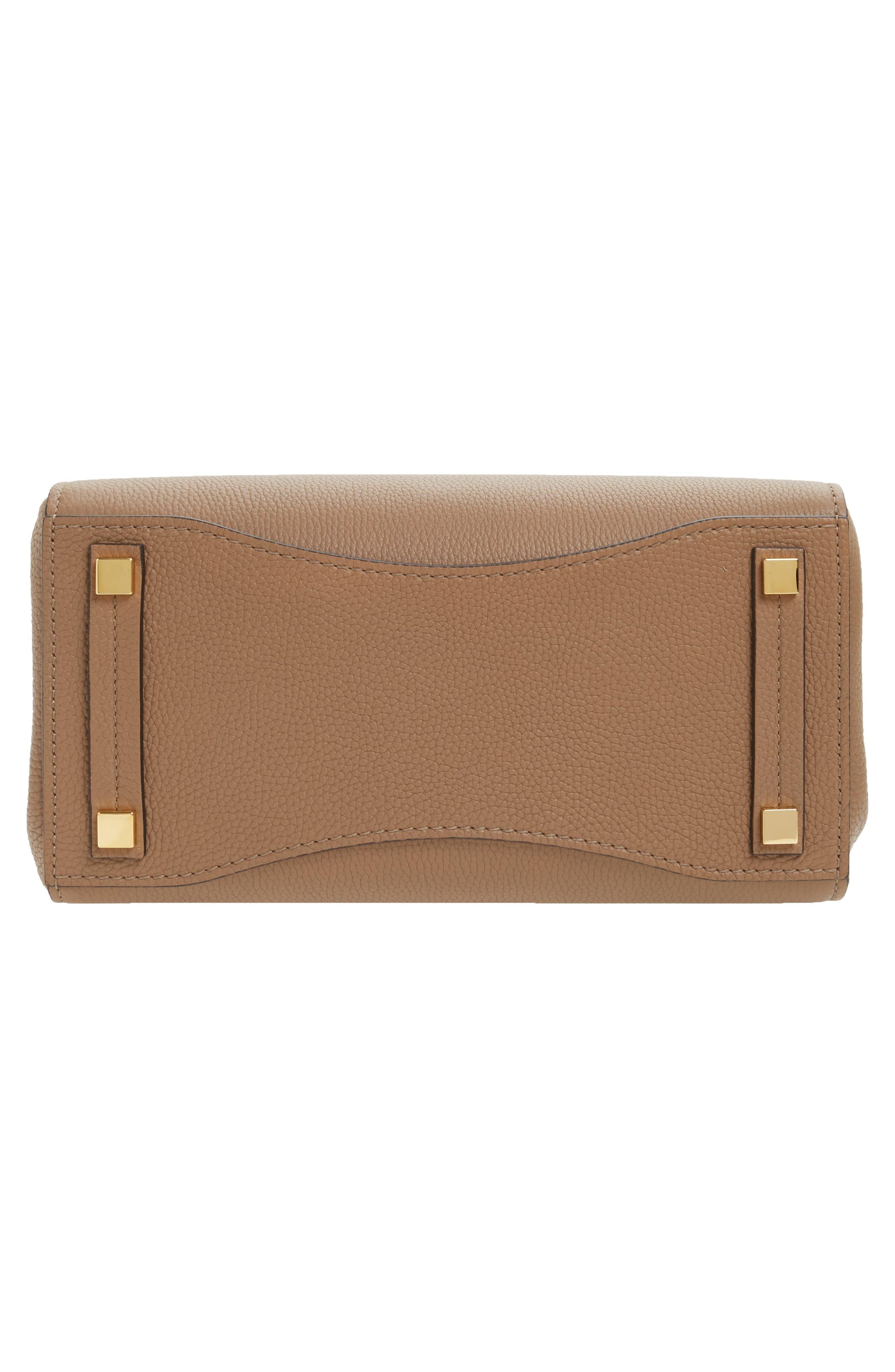 Large Bancroft Leather Top Handle Satchel,                             Alternate thumbnail 17, color,