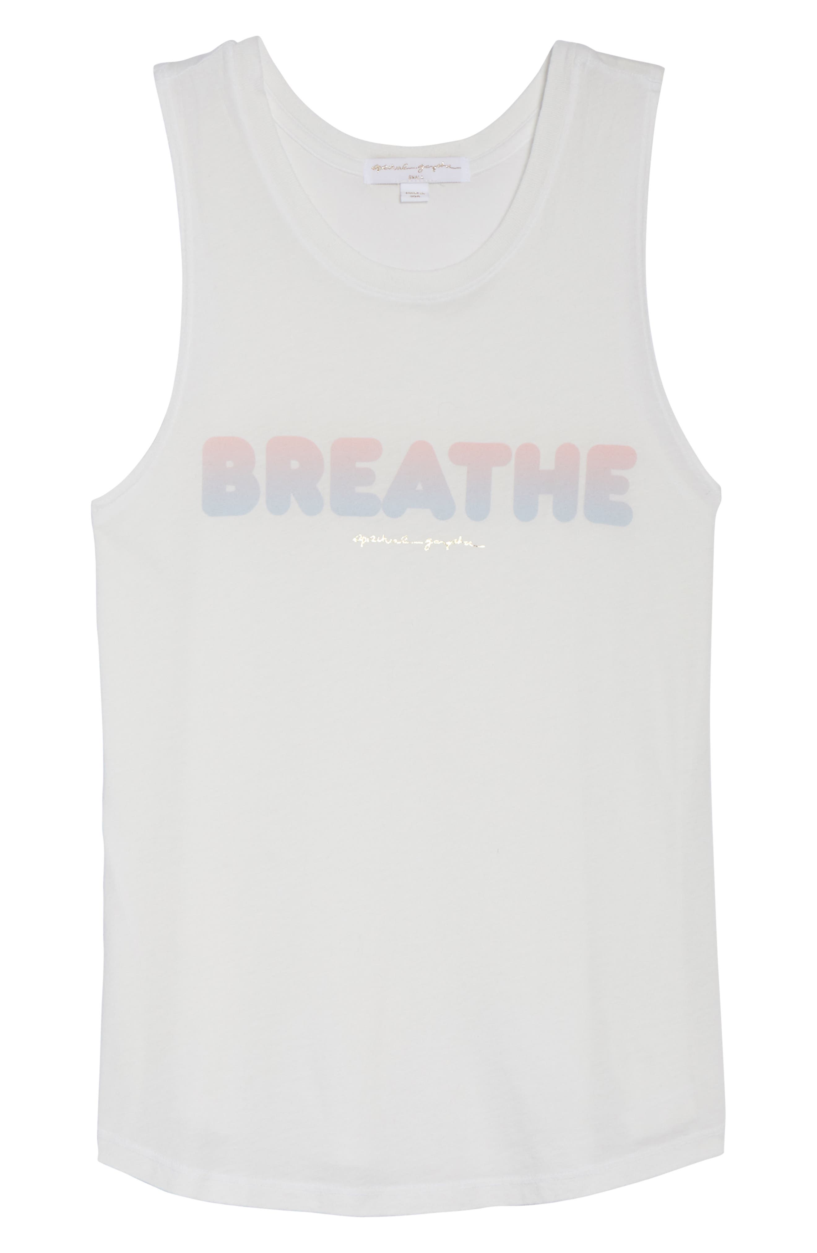 Breathe Muscle Tee,                             Alternate thumbnail 7, color,                             STARDUST