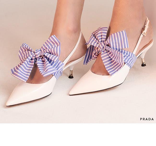 Spring 2018 essential: kitten heels.