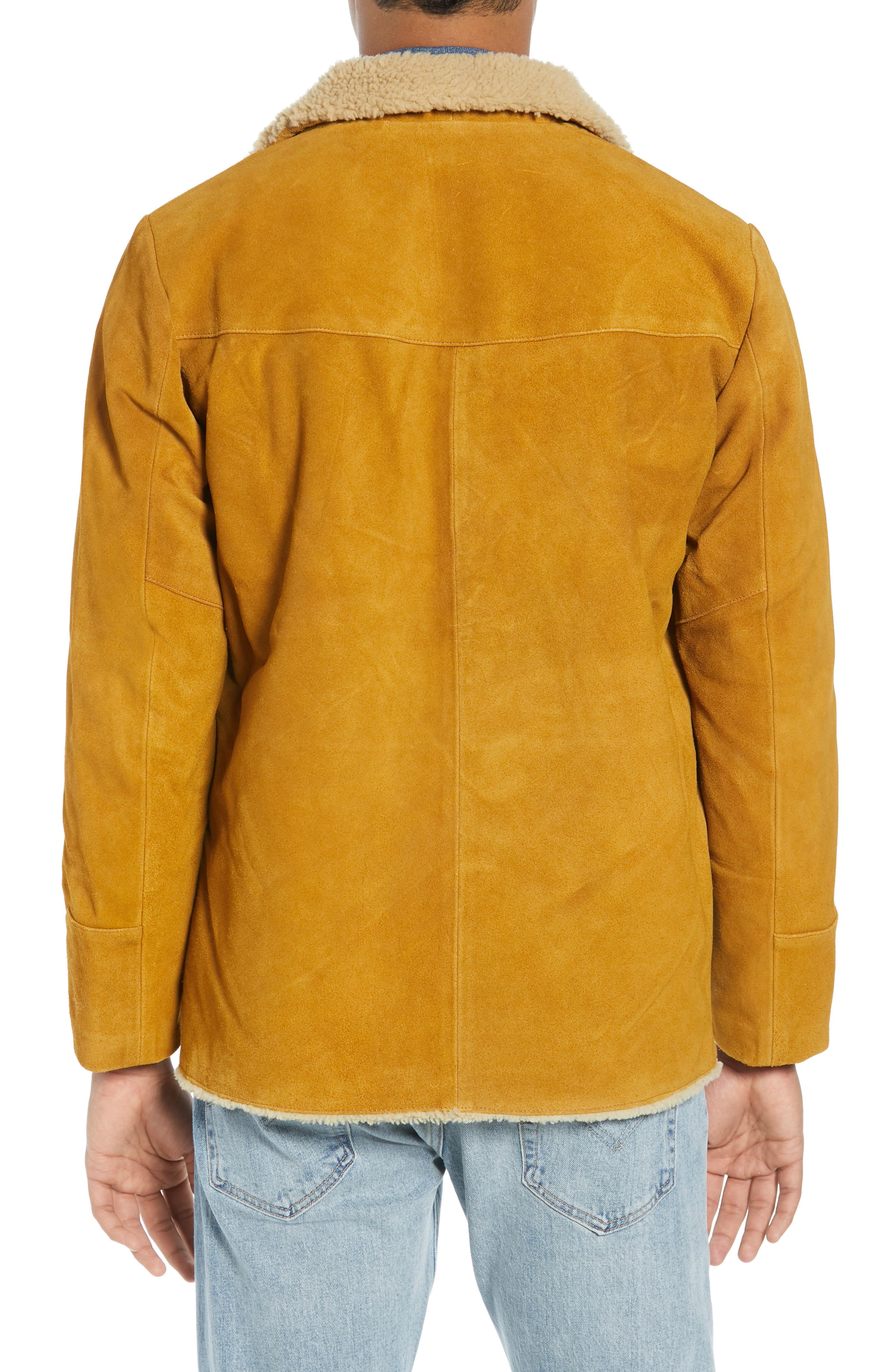 Levi's<sup>®</sup> Fleece Lined Suede Jacket,                             Alternate thumbnail 2, color,                             250