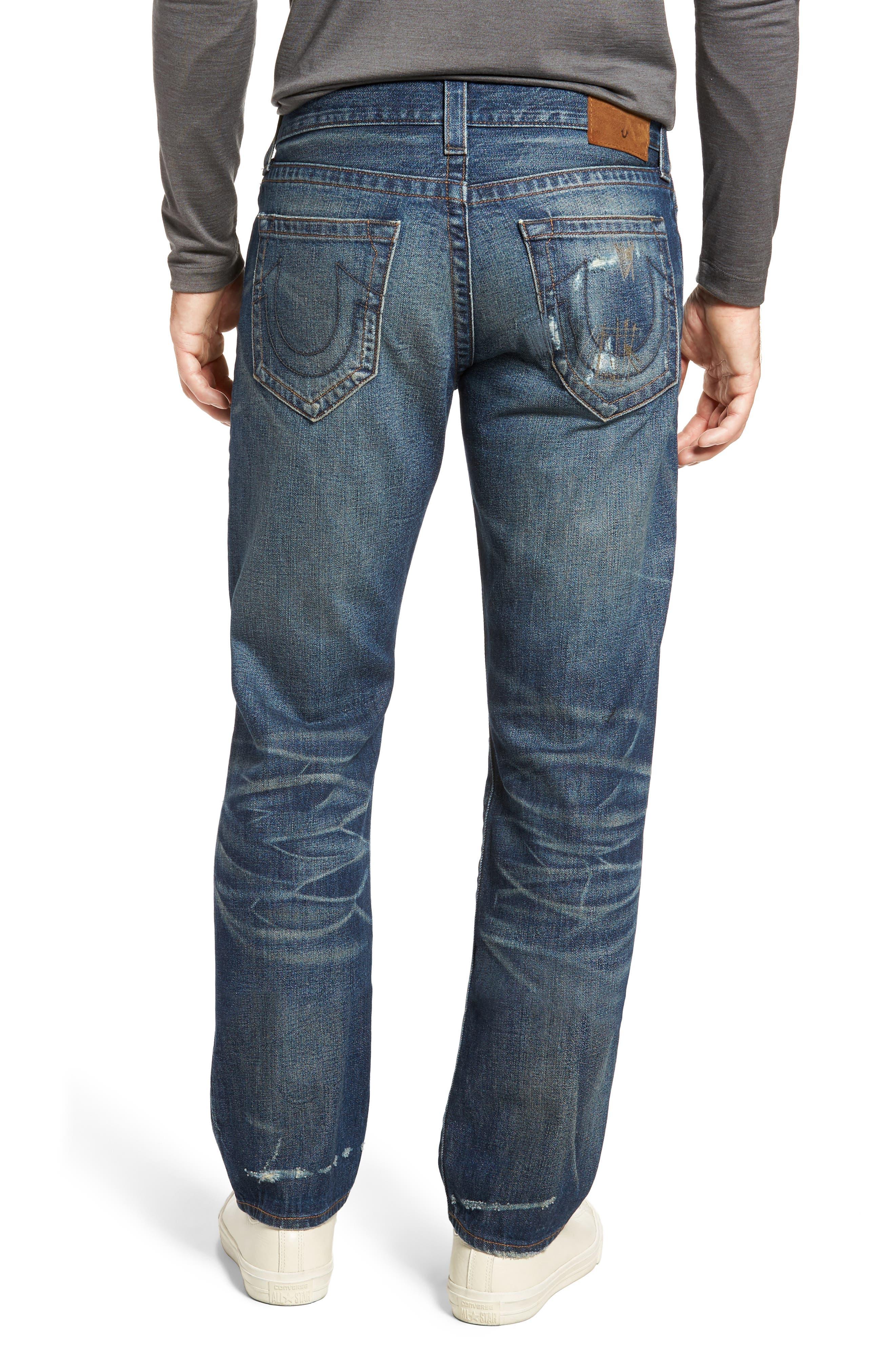 Geno Straight Leg Jeans,                             Alternate thumbnail 2, color,                             401