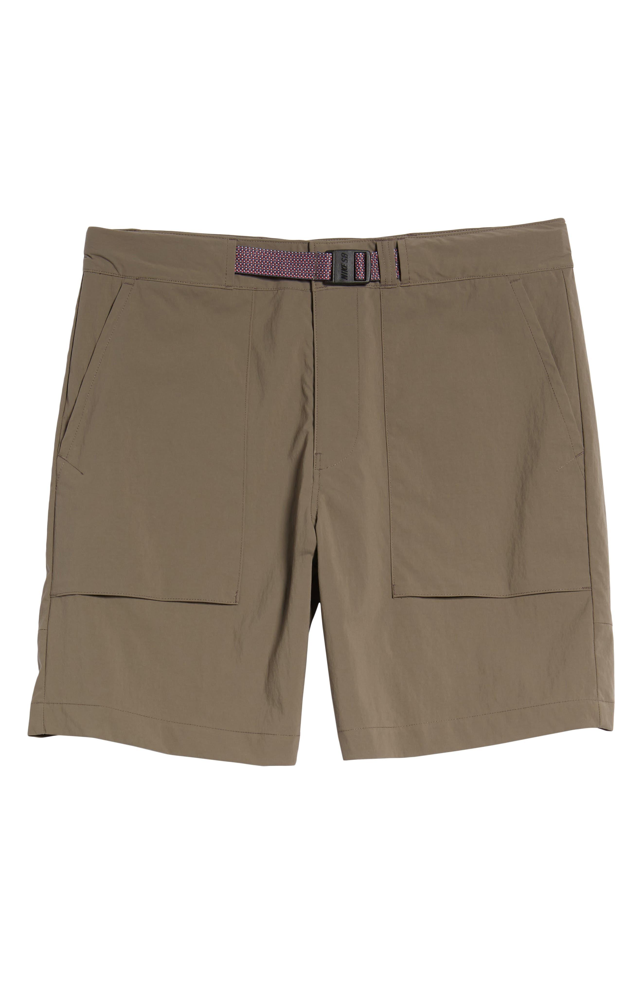 NIKE,                             SB Flex Everett Shorts,                             Alternate thumbnail 6, color,                             250