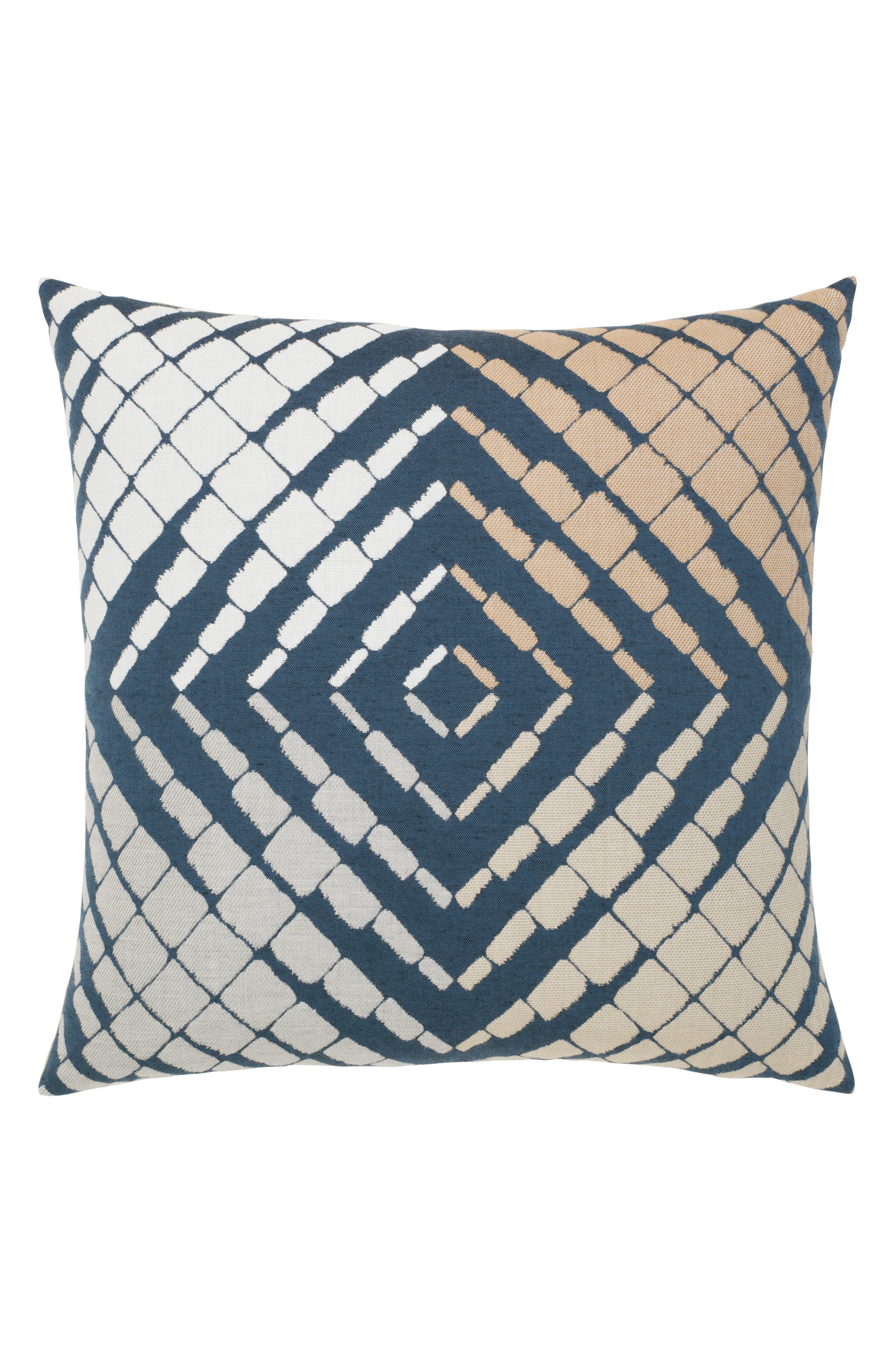 Progression Accent Pillow,                             Main thumbnail 1, color,                             BLUE/ BROWN