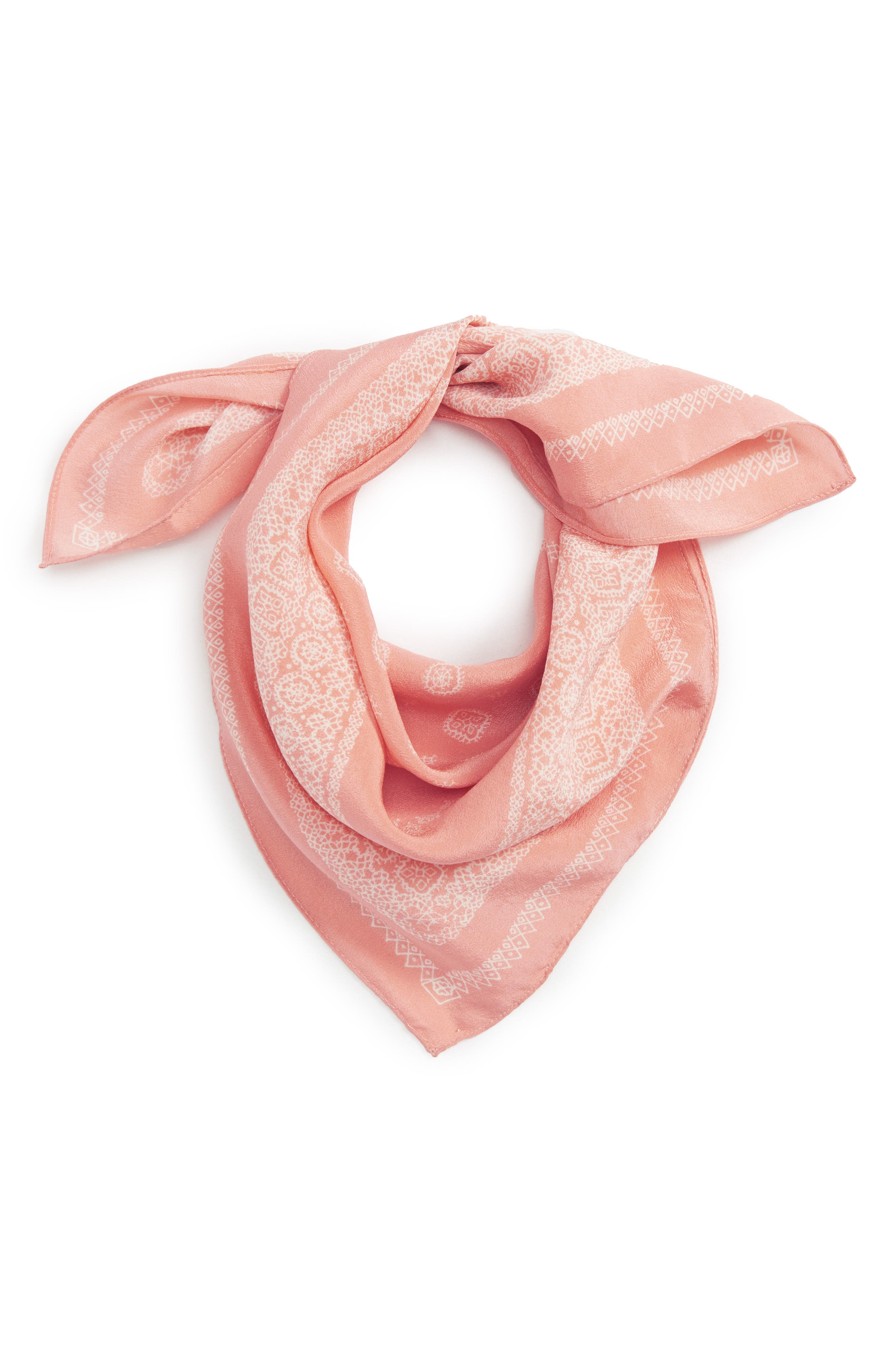 Silk Bandana,                             Main thumbnail 10, color,